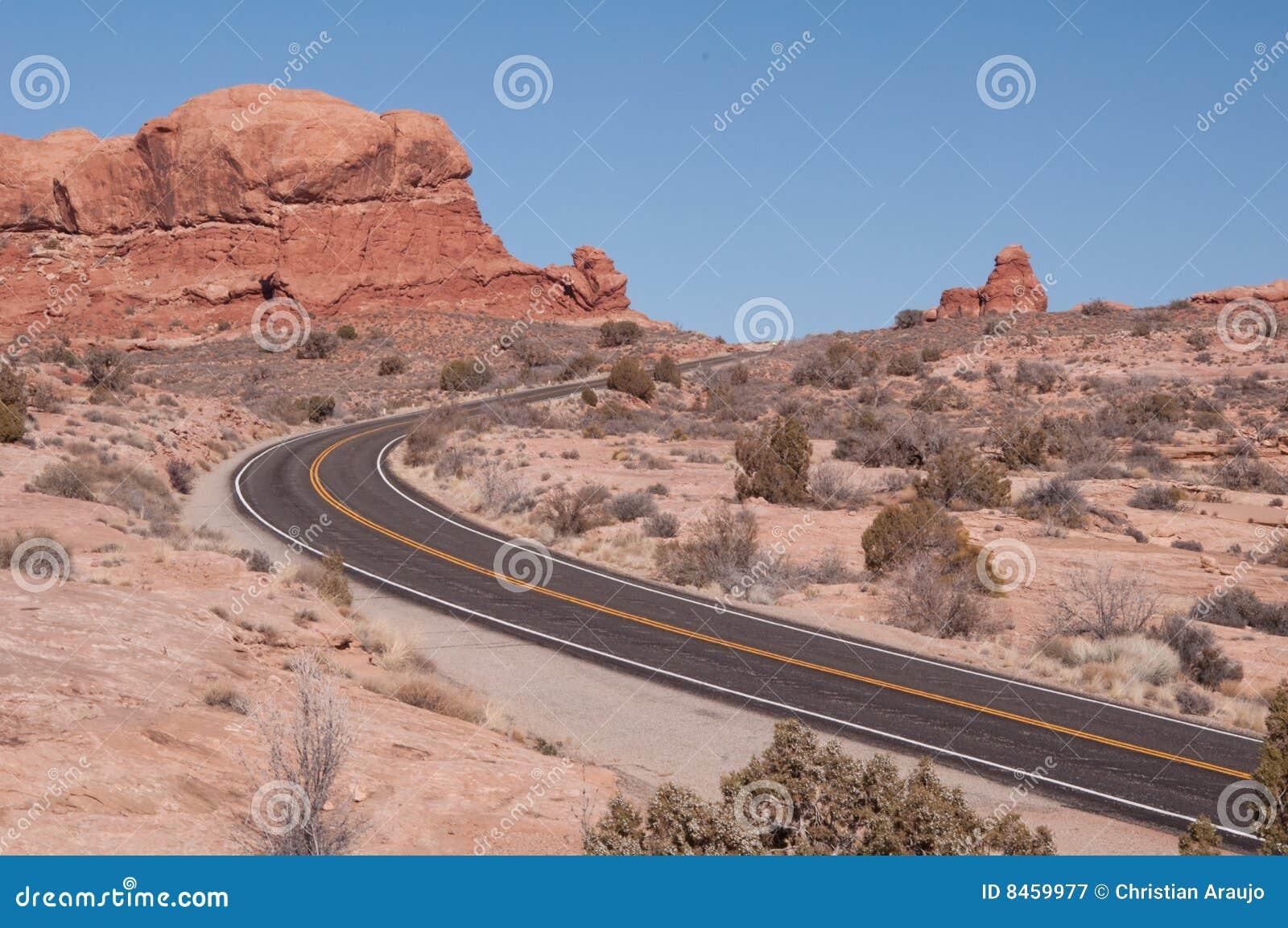 ökenväg