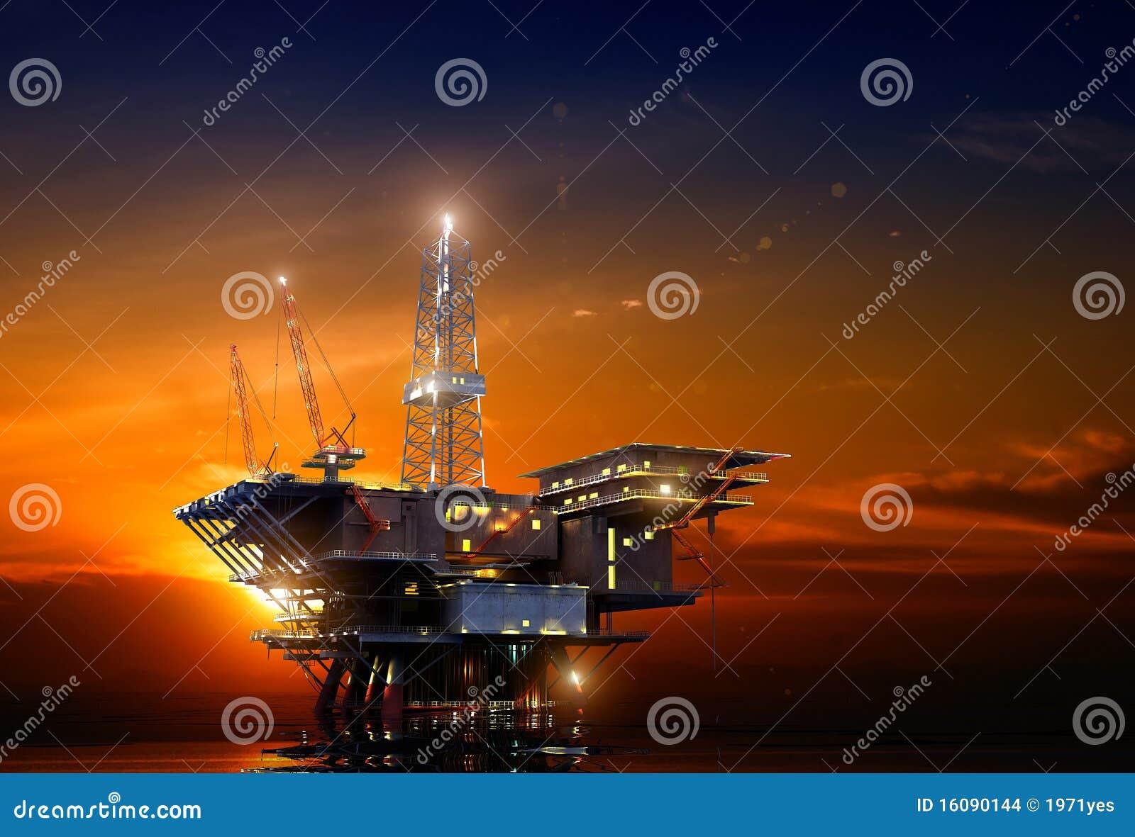 Ölplattform