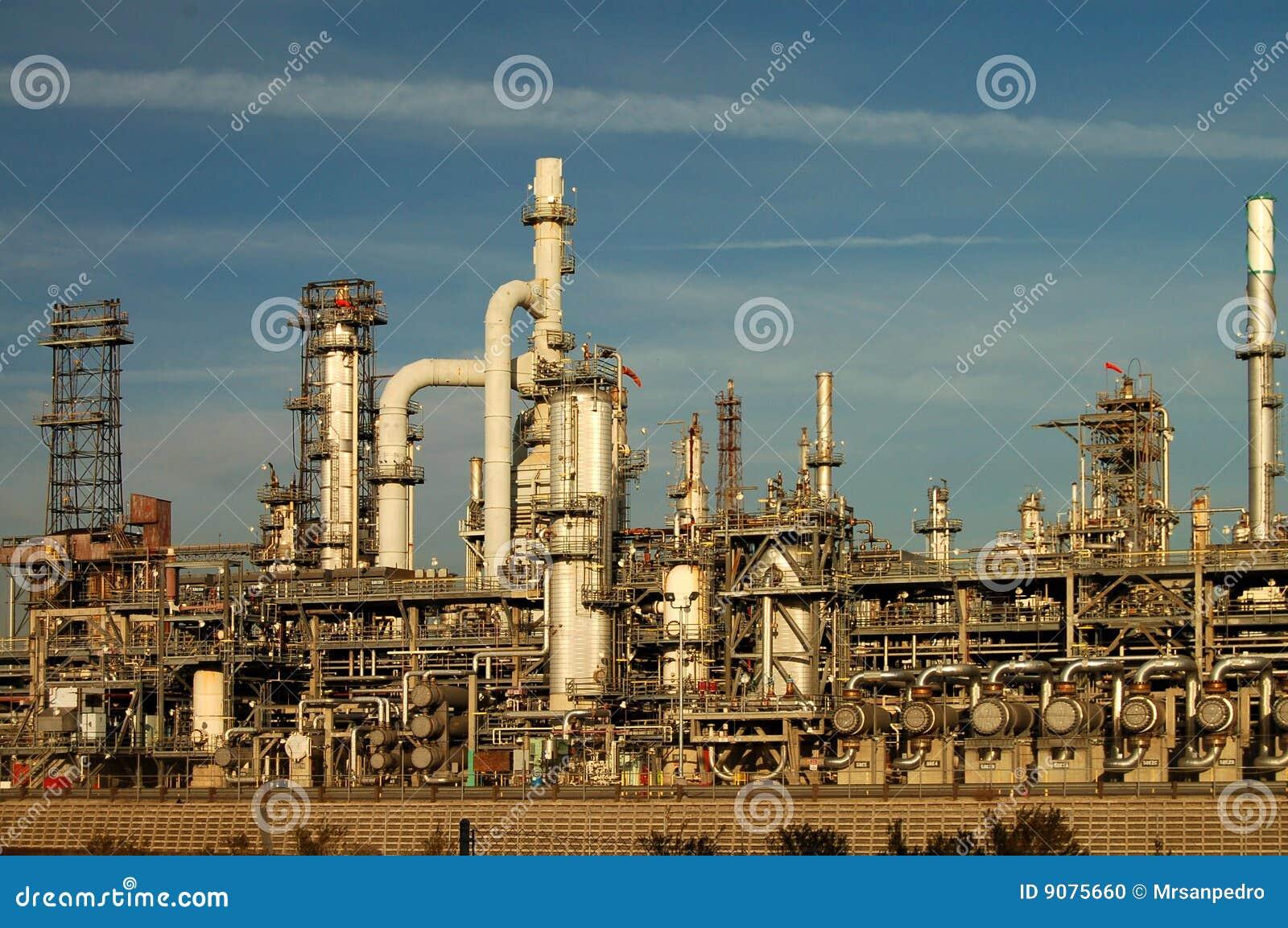 Ölraffinieren-Teildienst