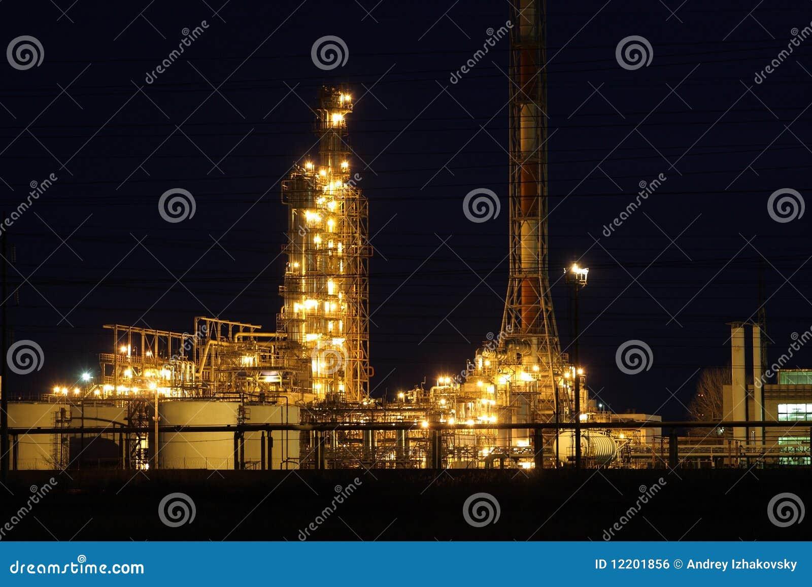 Ölraffinierenfabrik