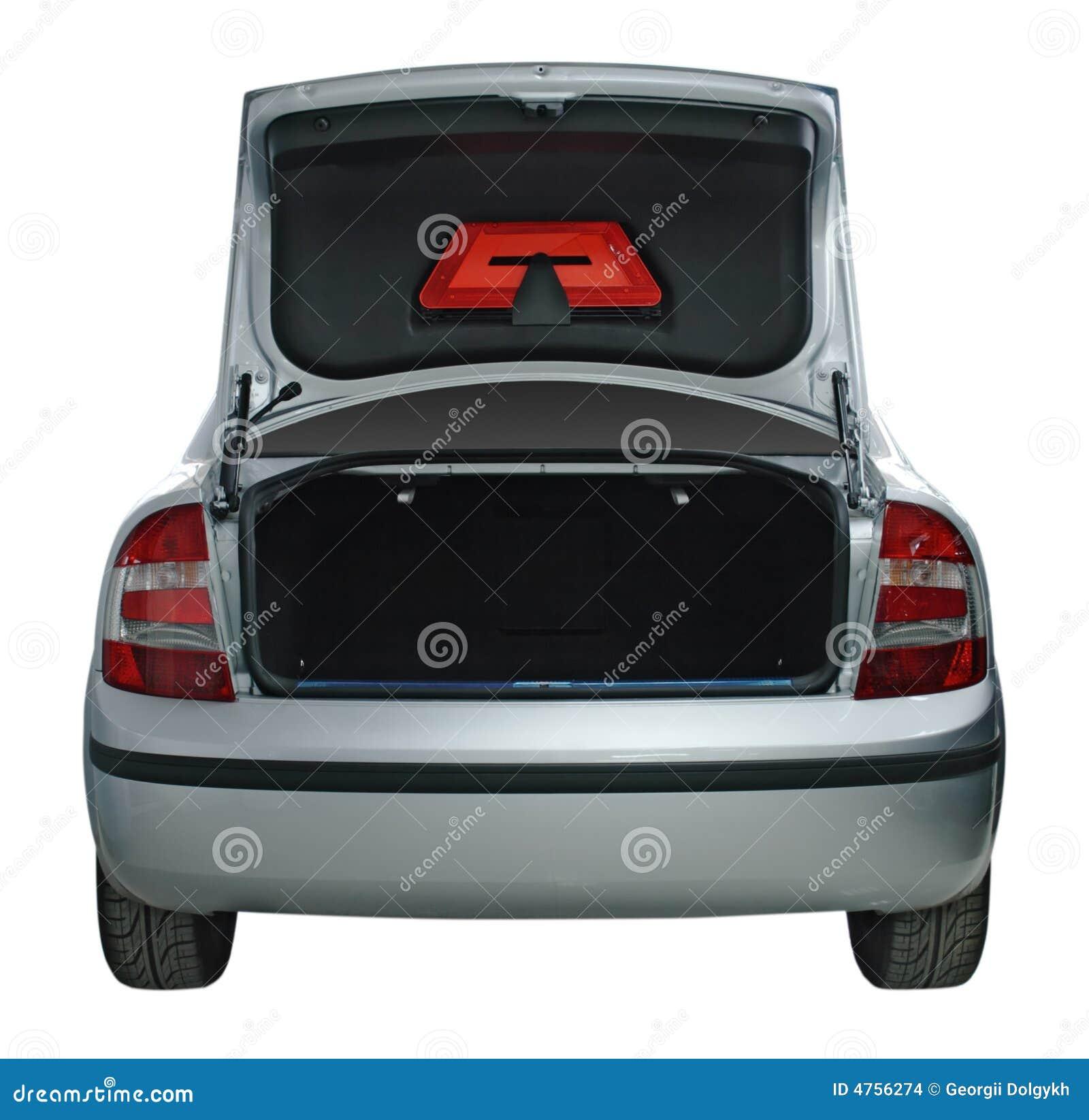 öppen stam för bil