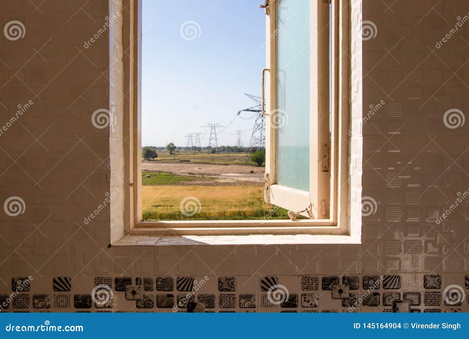 Öppet fönster, utanför sikt