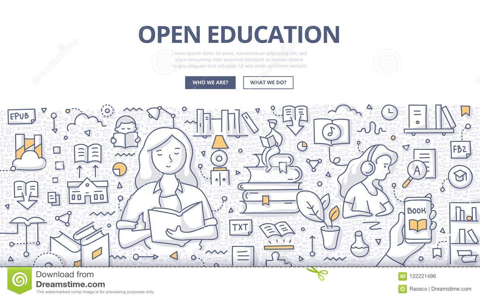 Öppet utbildningsklotterbegrepp