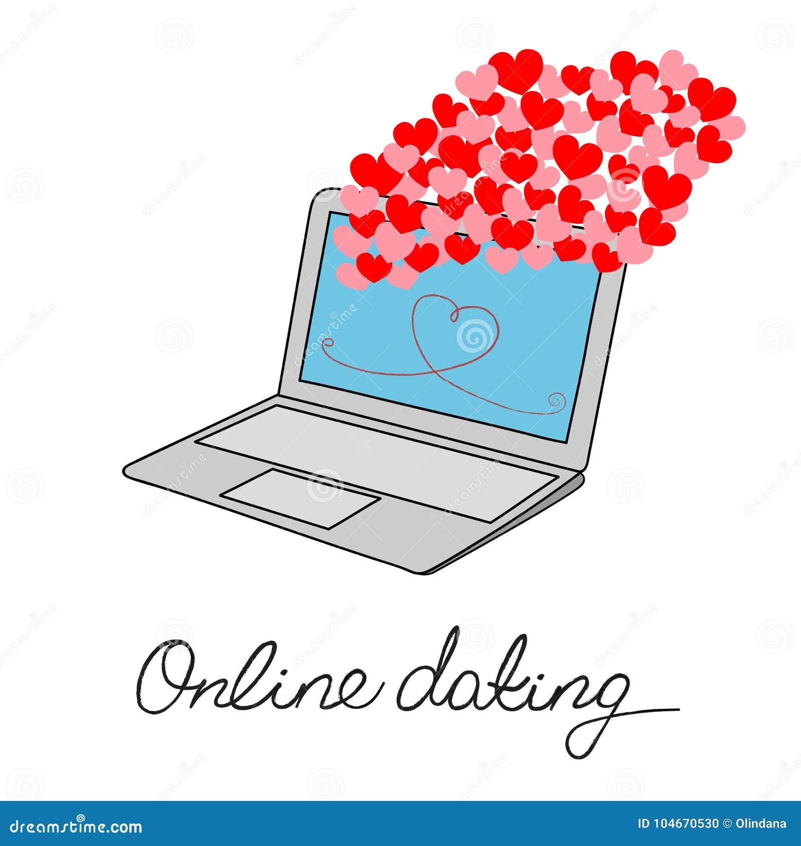 Online Dating romantisk