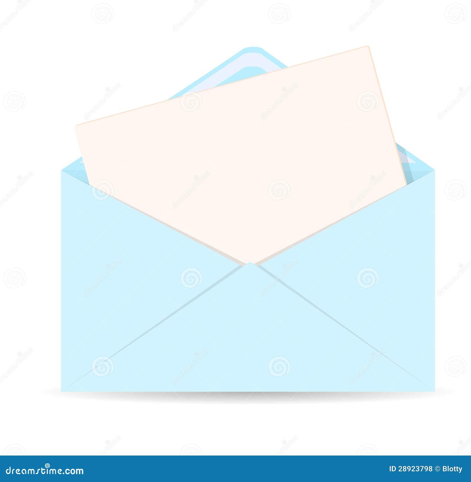 Öppna kuvertet med märker vektorsymbolen - EPS 10
