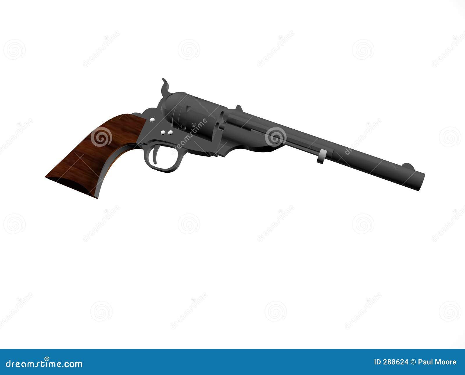 öppna pistolöverkanten