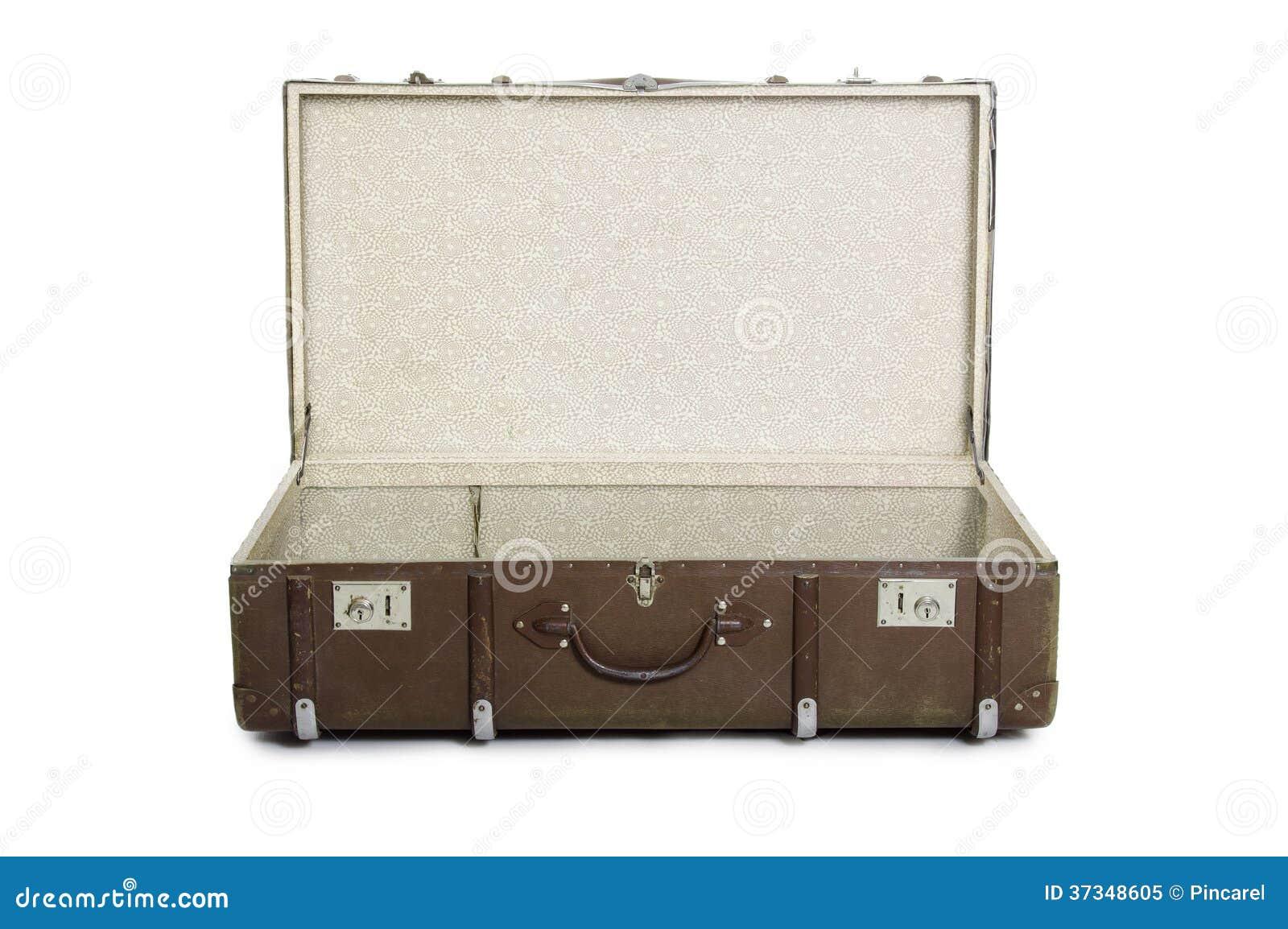 Öppna resväskan