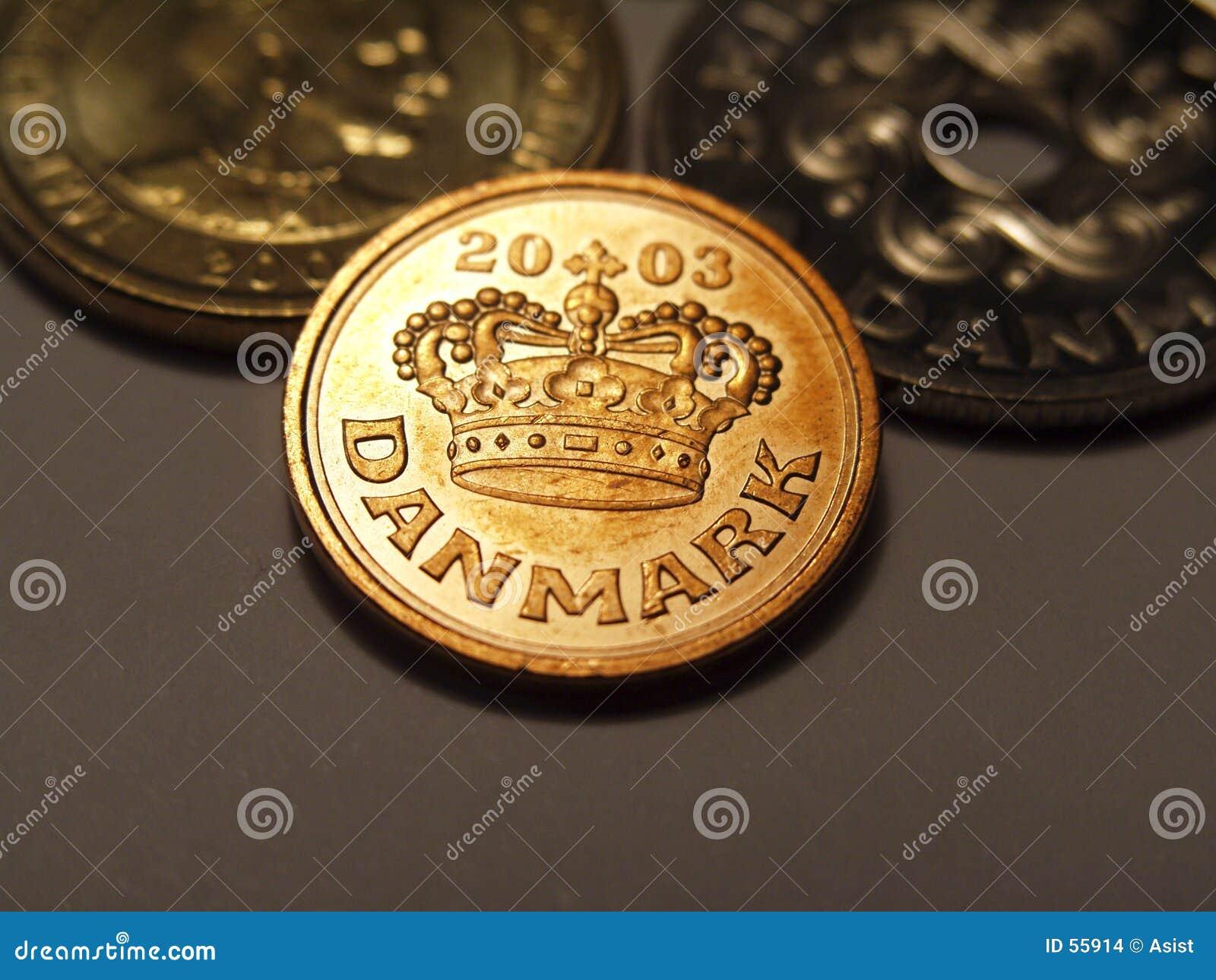 Download Öre du danois 50 photo stock. Image du cuivre, kroner, changement - 55914