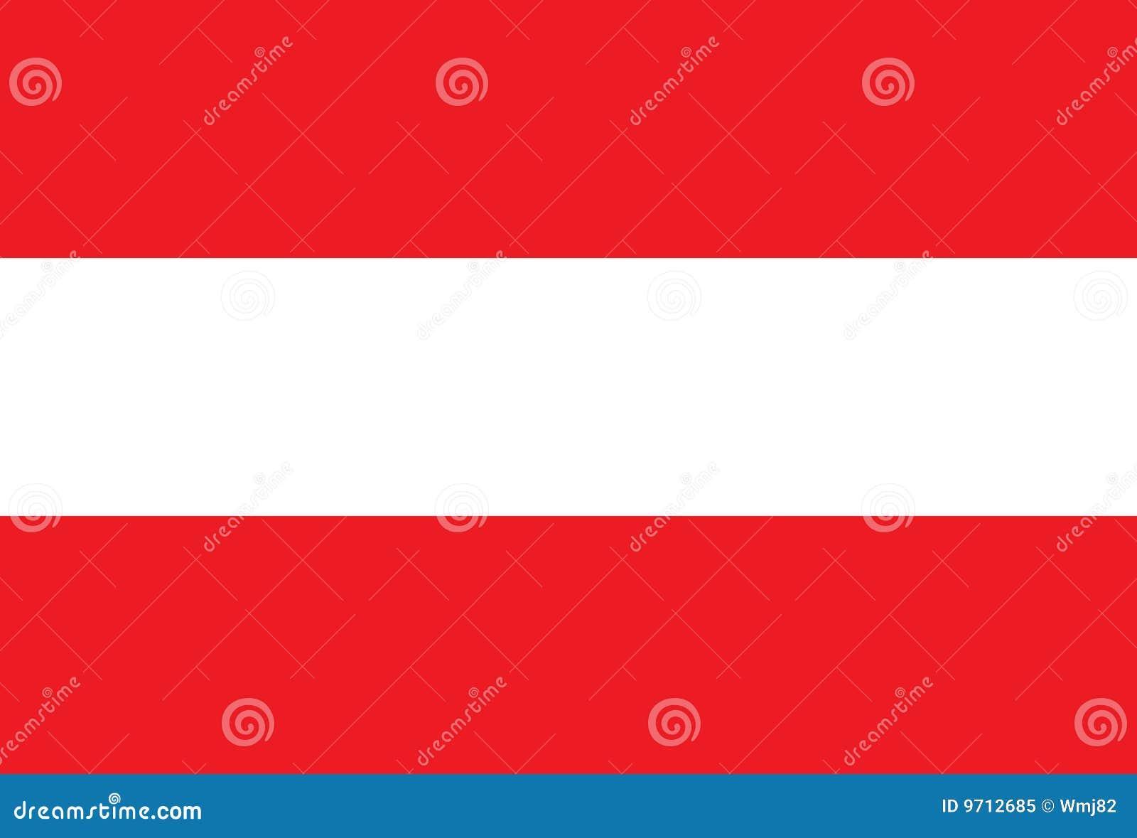 Österreich-Markierungsfahne