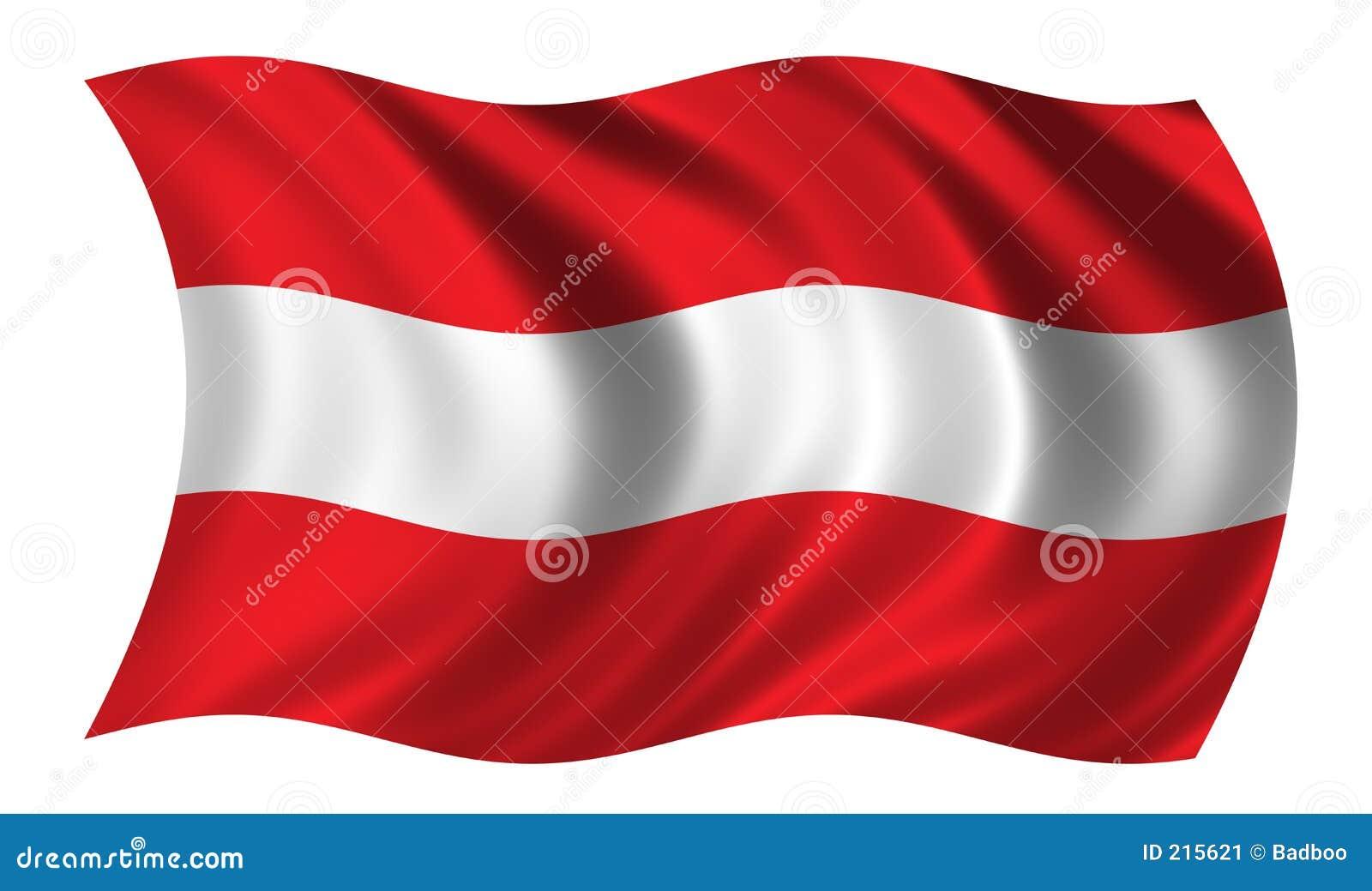 österrikisk flagga