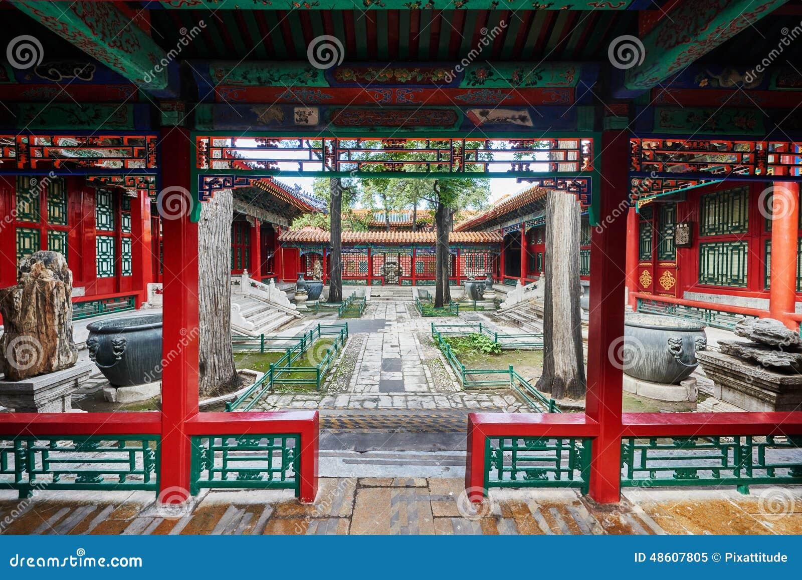 Östlig slottForbidden City Peking Kina
