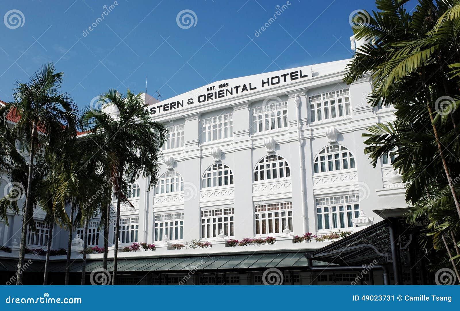 Östligt och orientaliskt hotell