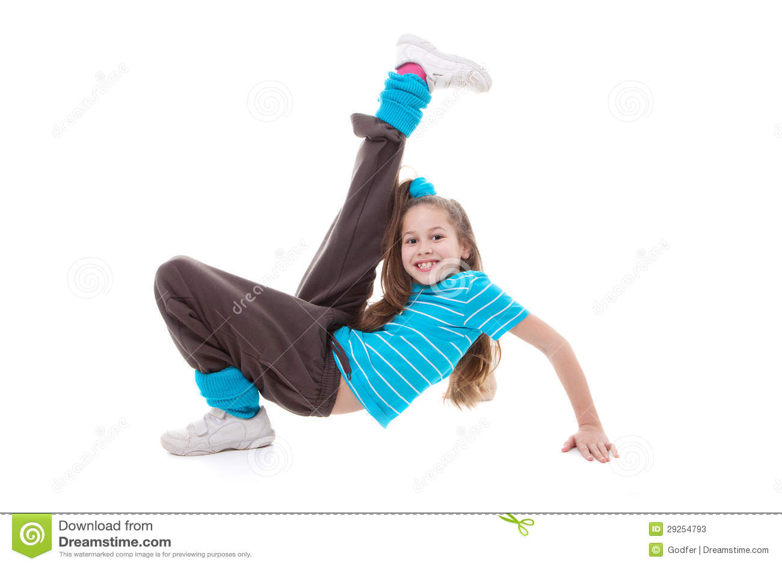 Öva för barndans
