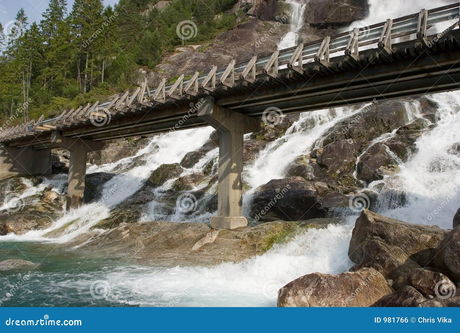 över brovattenfallet