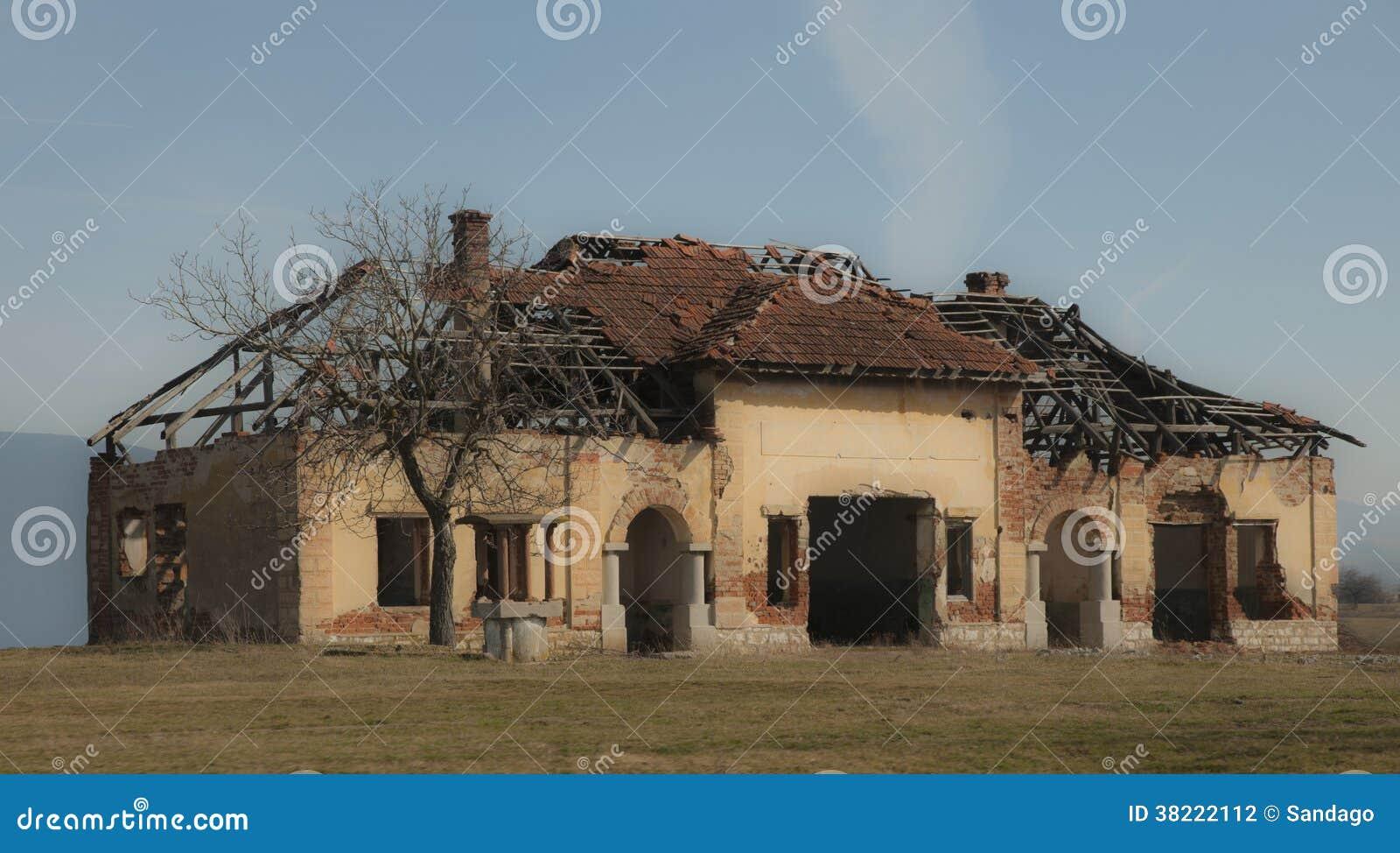 Övergett hus