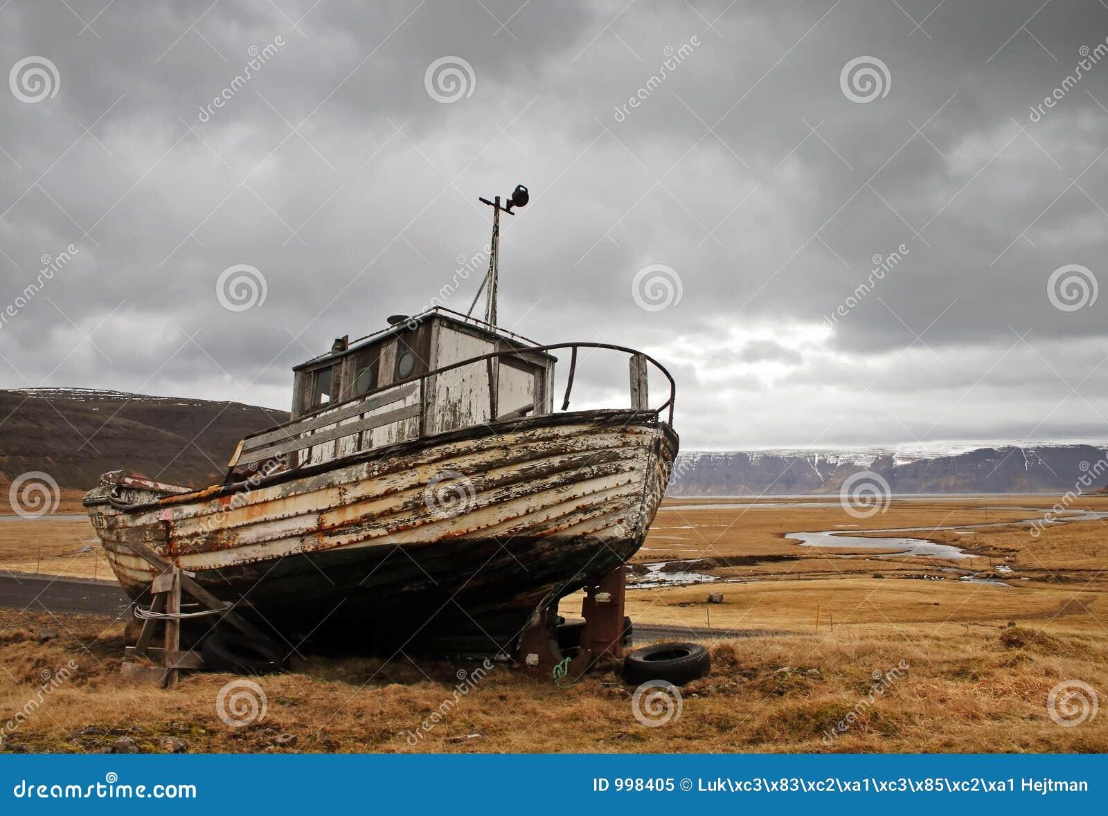 övergiven ship