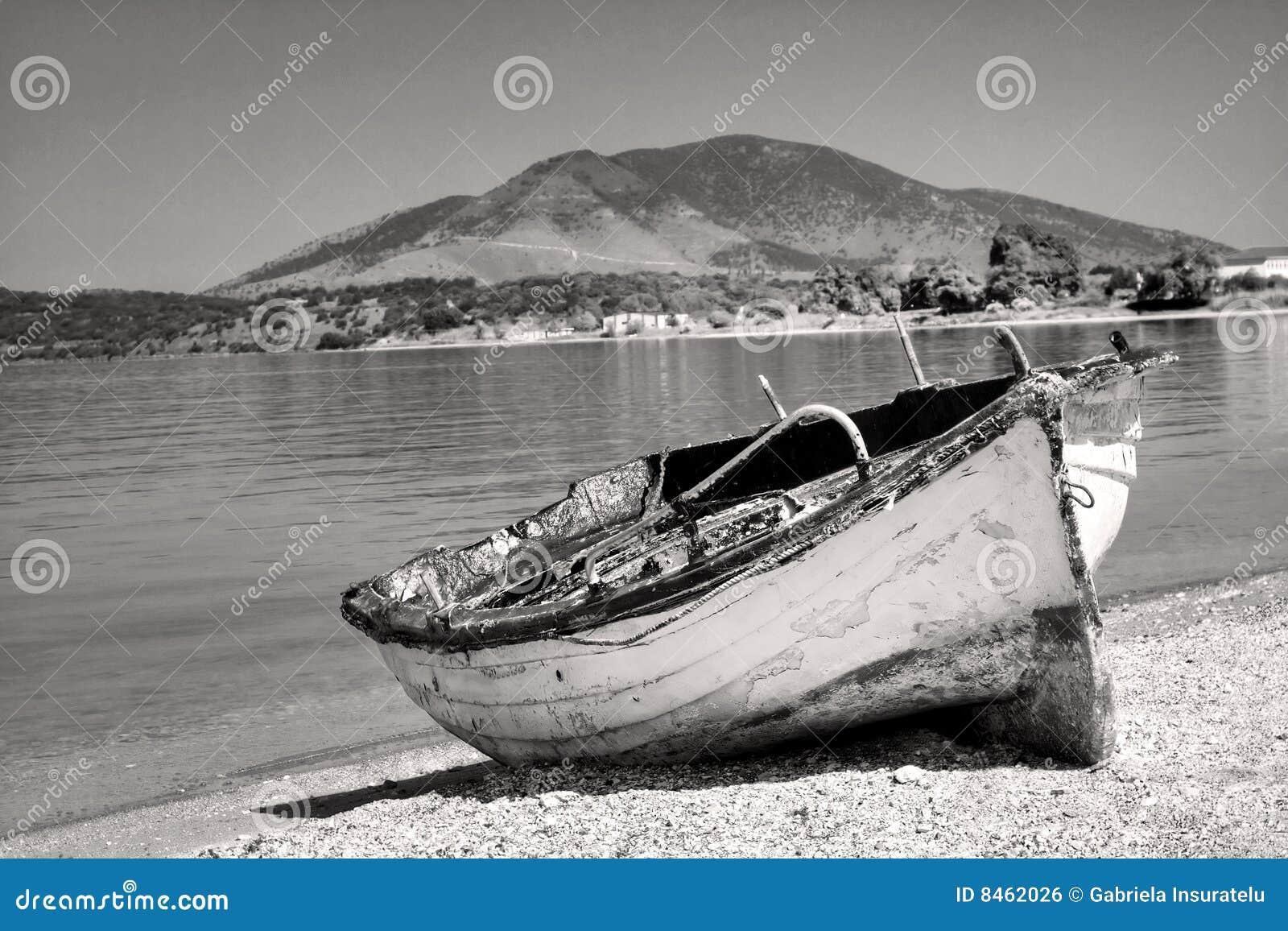 övergivet fartyg