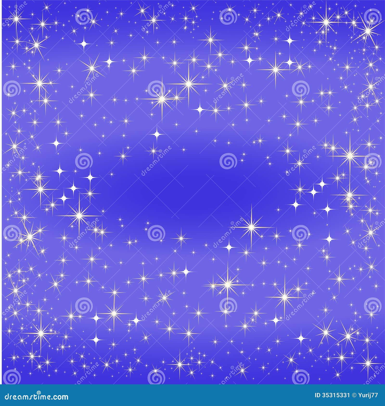 Översikt för blå stjärna, Vintergatan