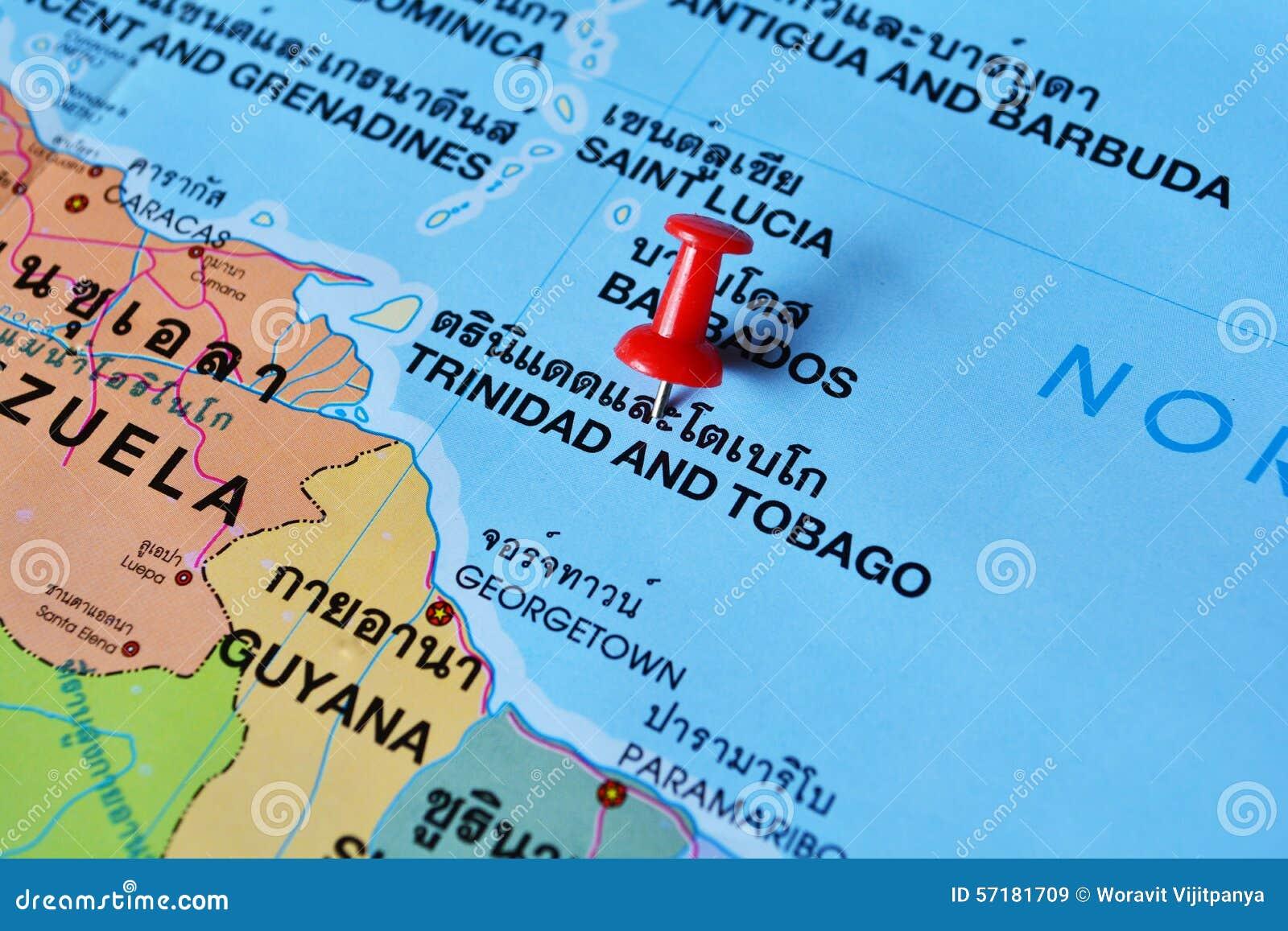 översikt tobago trinidad