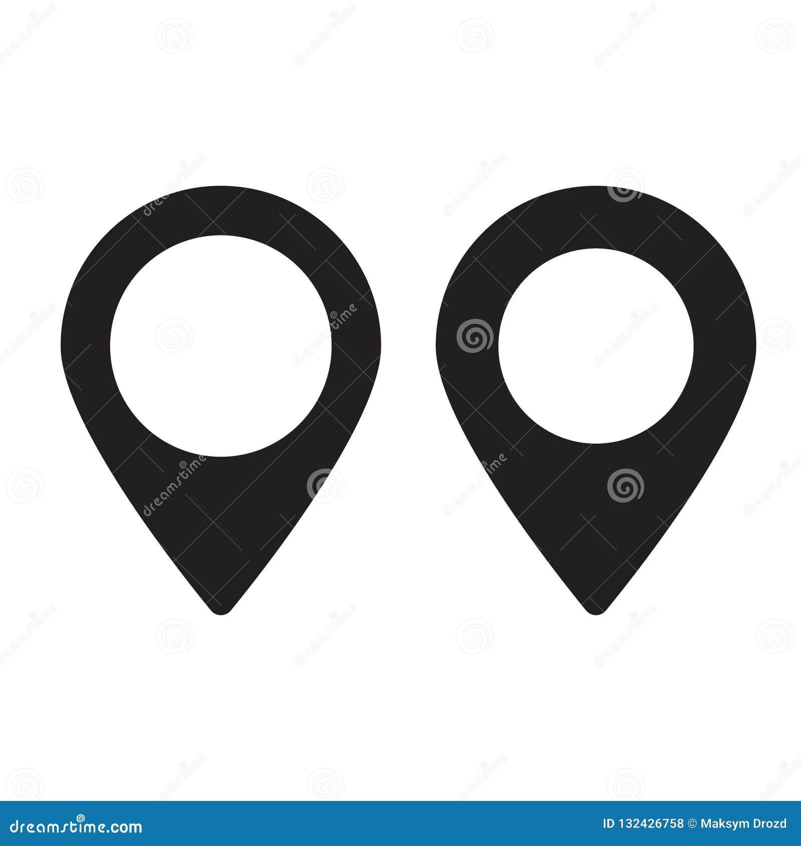 Översiktsstift Symbol för lägeöversikt