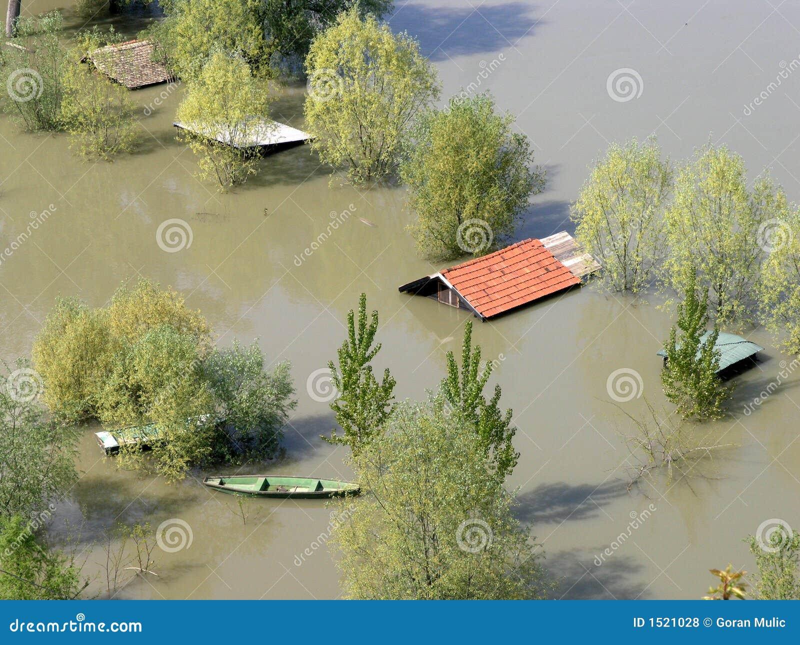 översvämmade utgångspunkter