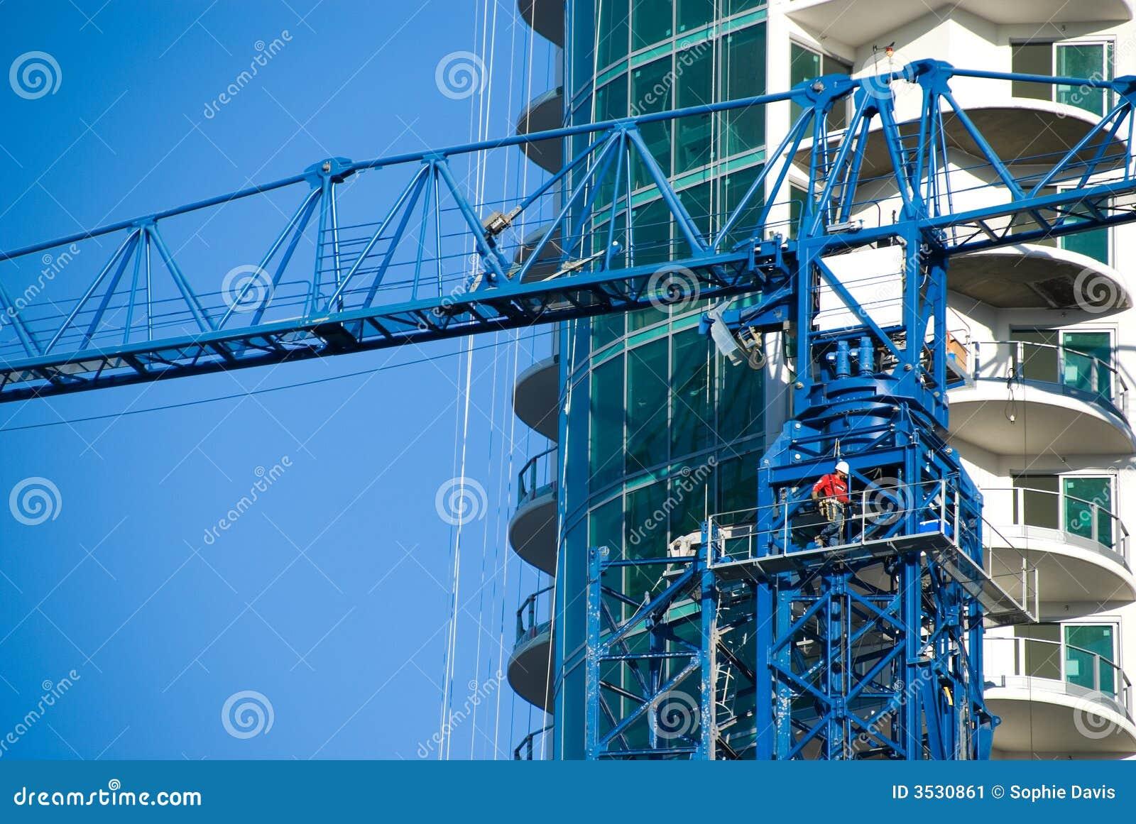 övre torn för kran