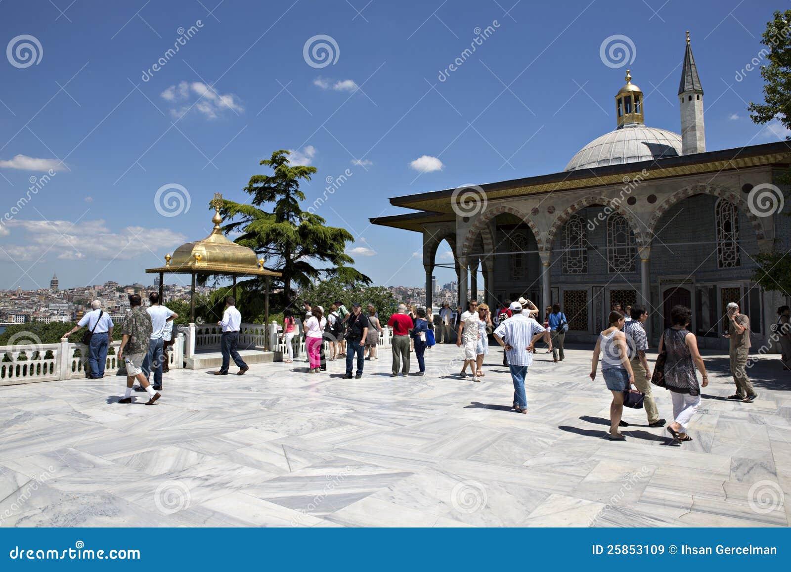 Övreterrass och Baghdad Kiosk, Topkapi slott