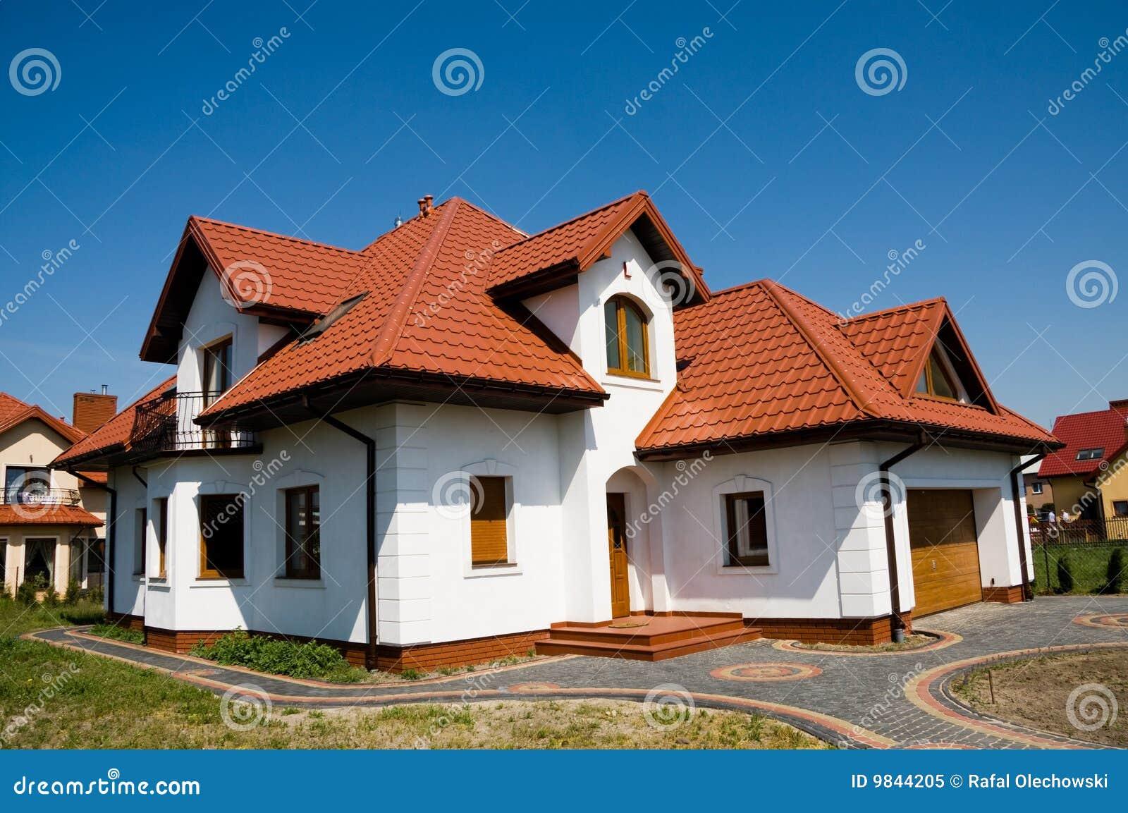 Única casa do branco da família