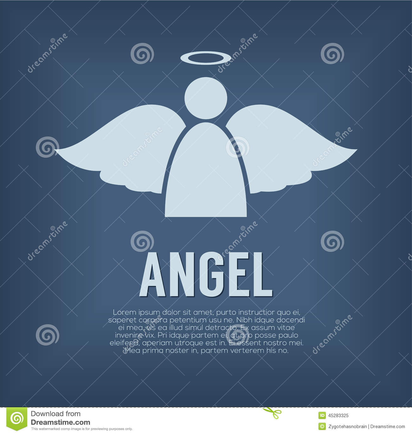 Único Angel Symbol