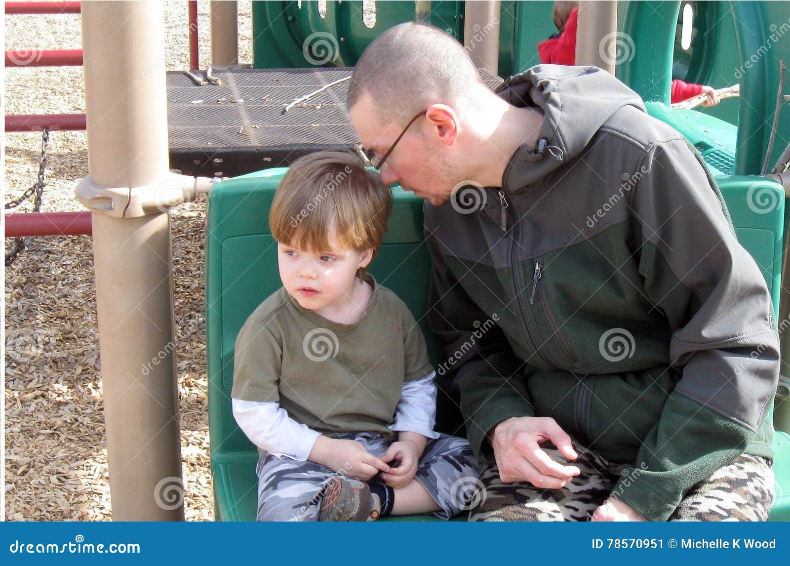 Únicos pai e filho