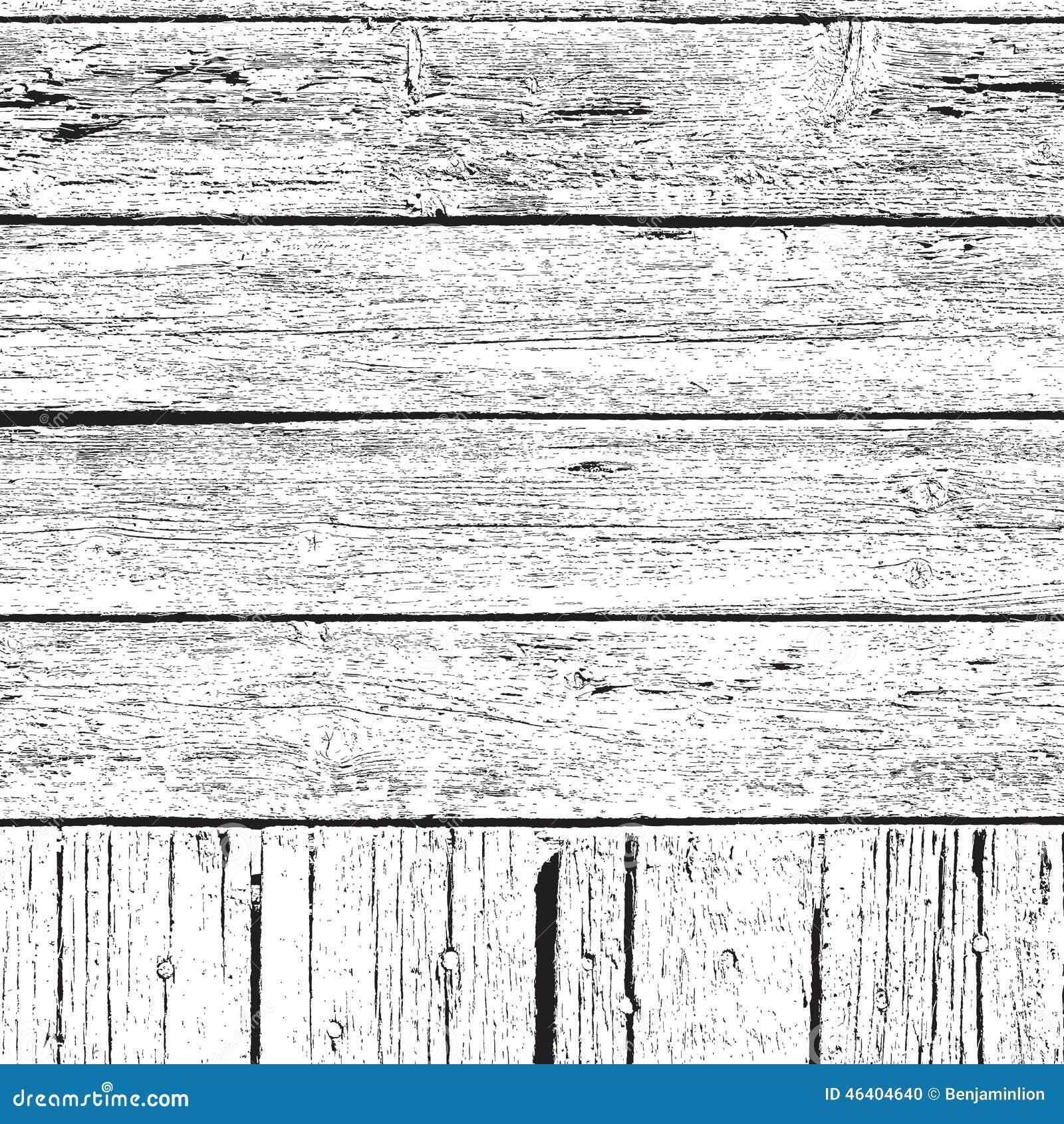 Uberlagerungs Landlicher Zaun Texture Vektor Abbildung