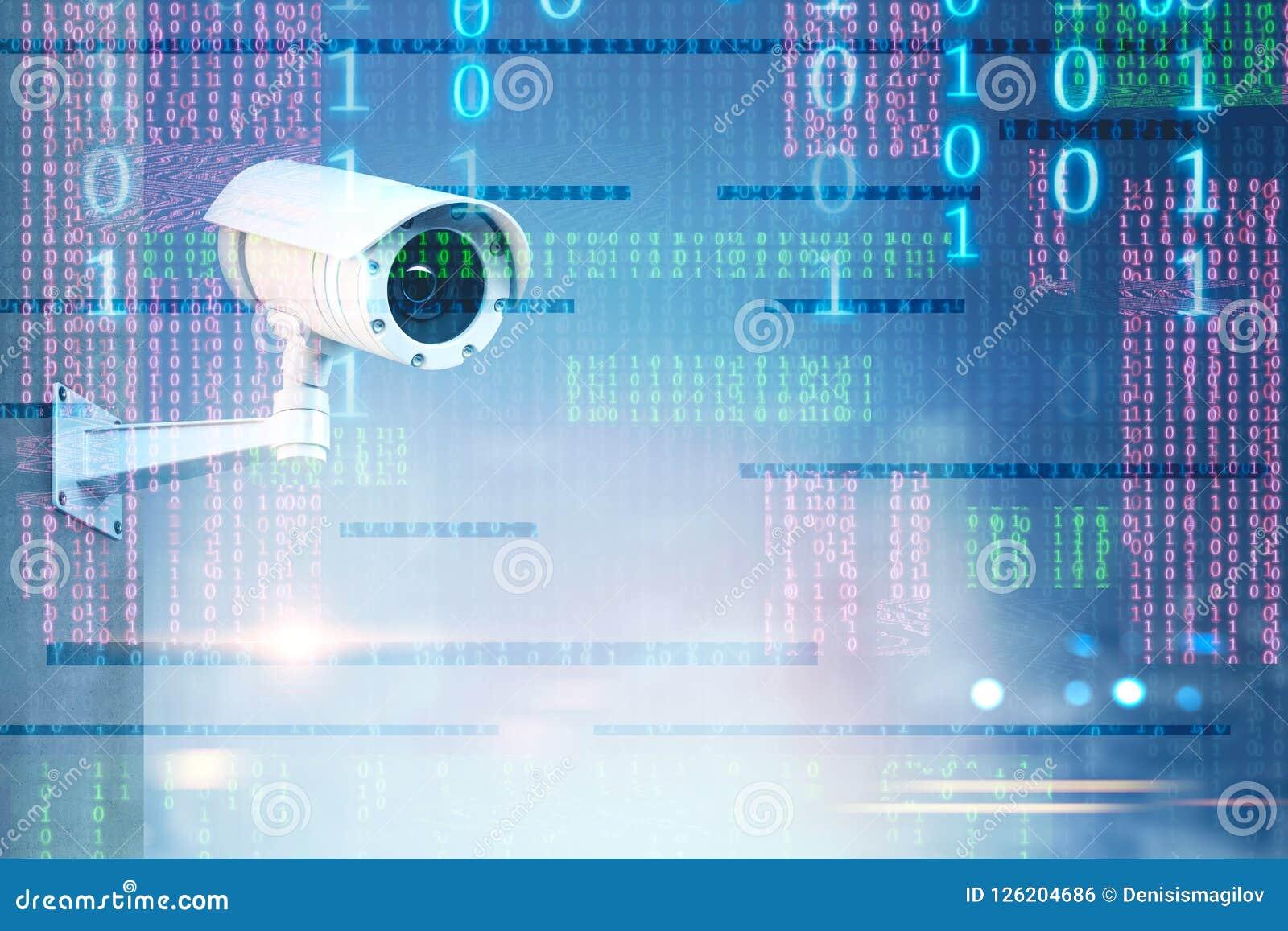Überwachungskamera über Binärzahlschnittstelle