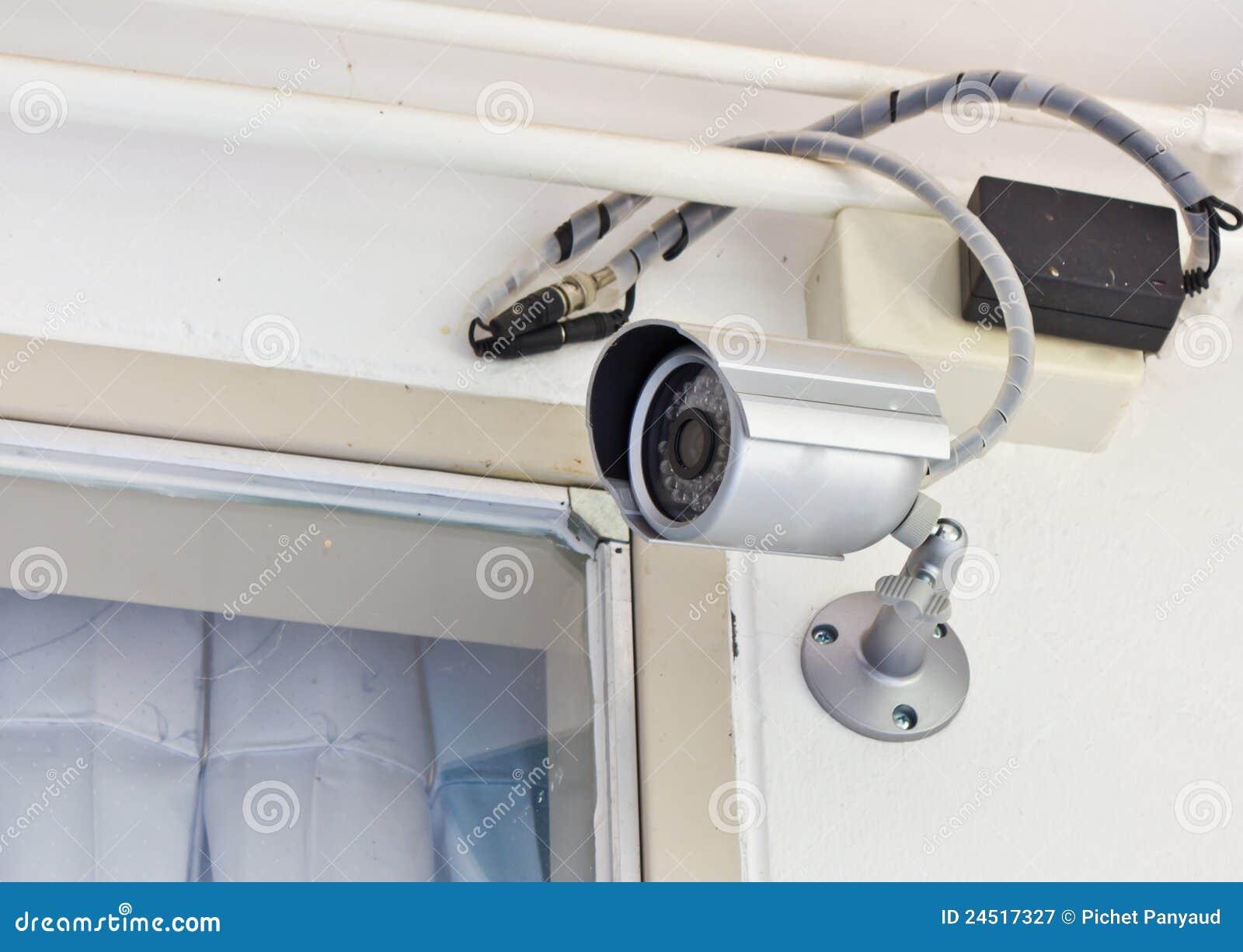Überwachungskamera im haus lizenzfreie stockfotografie - bild, Badezimmer ideen