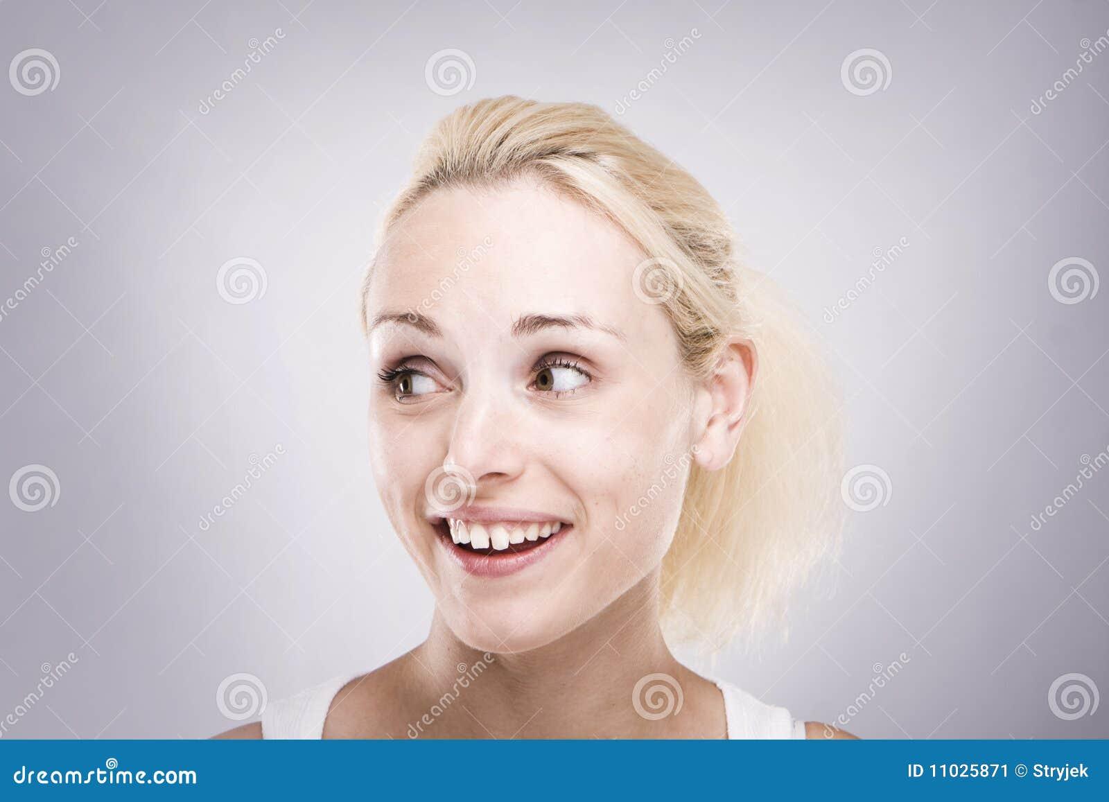 Frauen lächeln flirt
