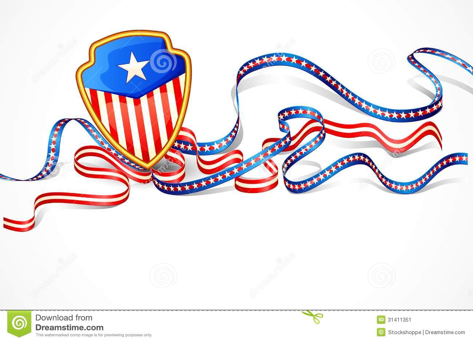 美国国旗背景 库存图片