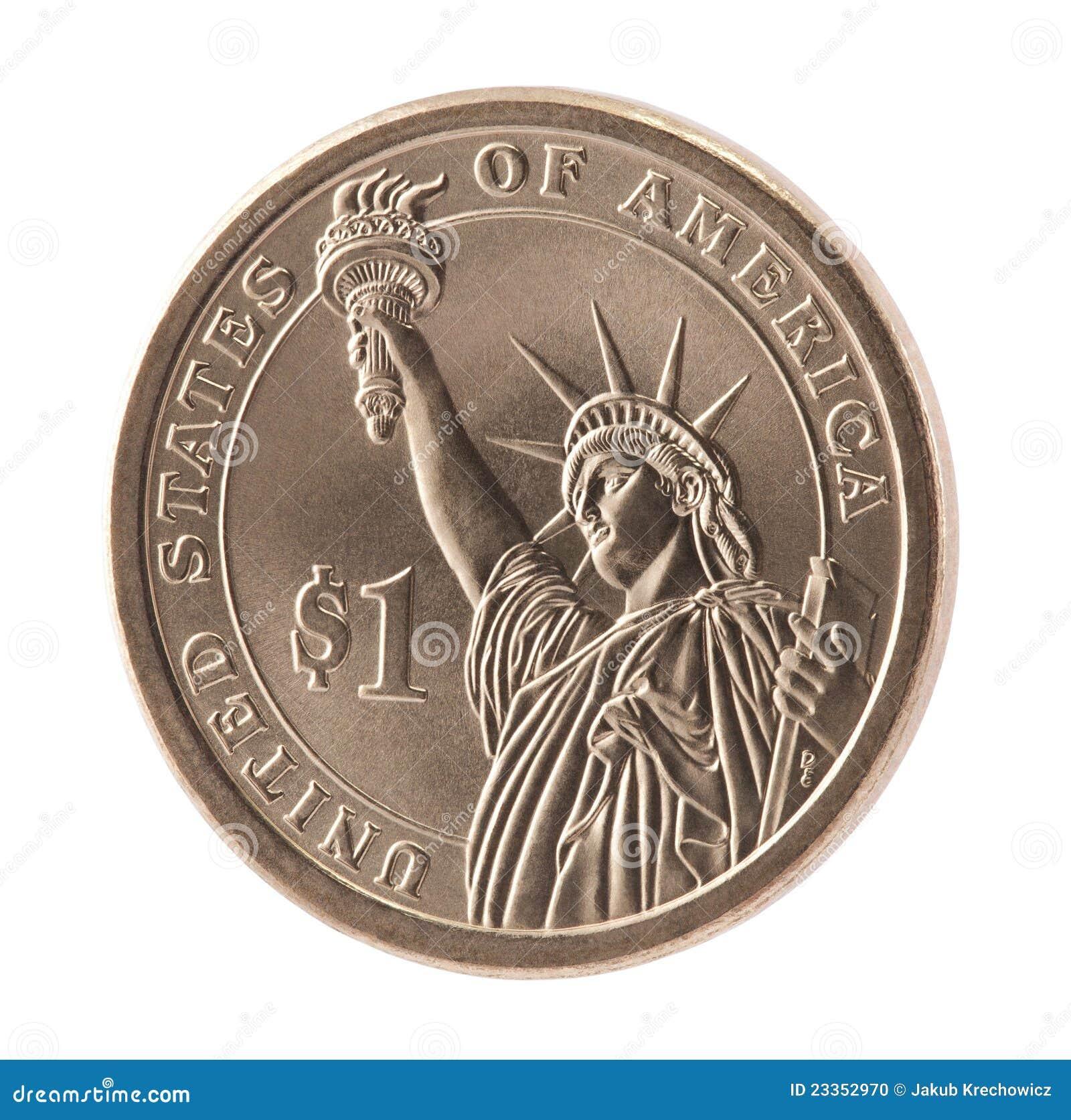 美国硬币美元一