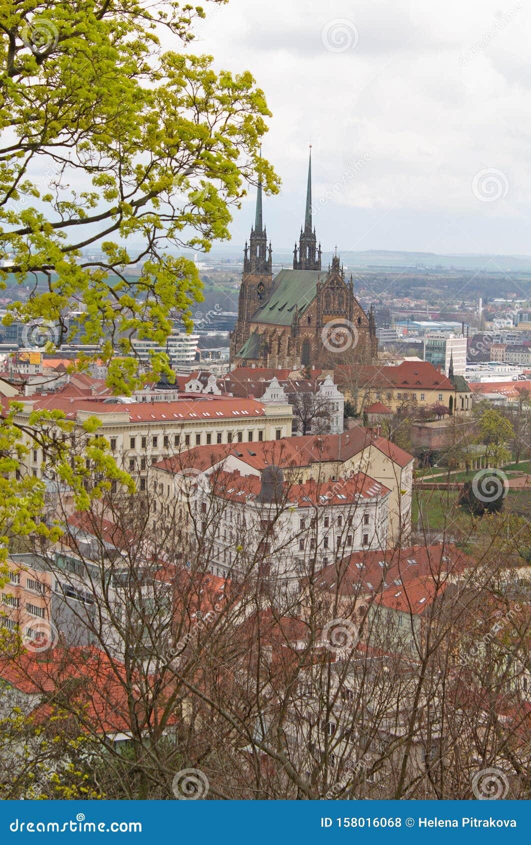 Českobratrský evangelický chrám Jana Amose Komenského in Brno city