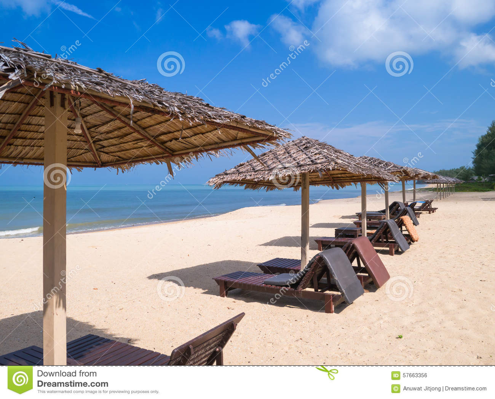 łóżka na plaży
