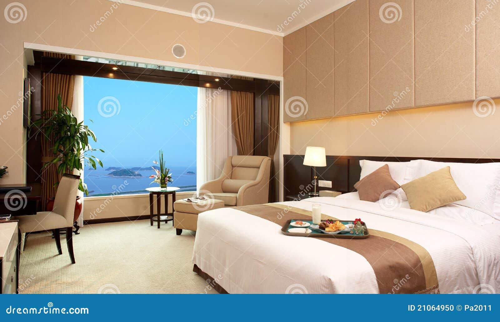 łóżkowy pokój hotelowy