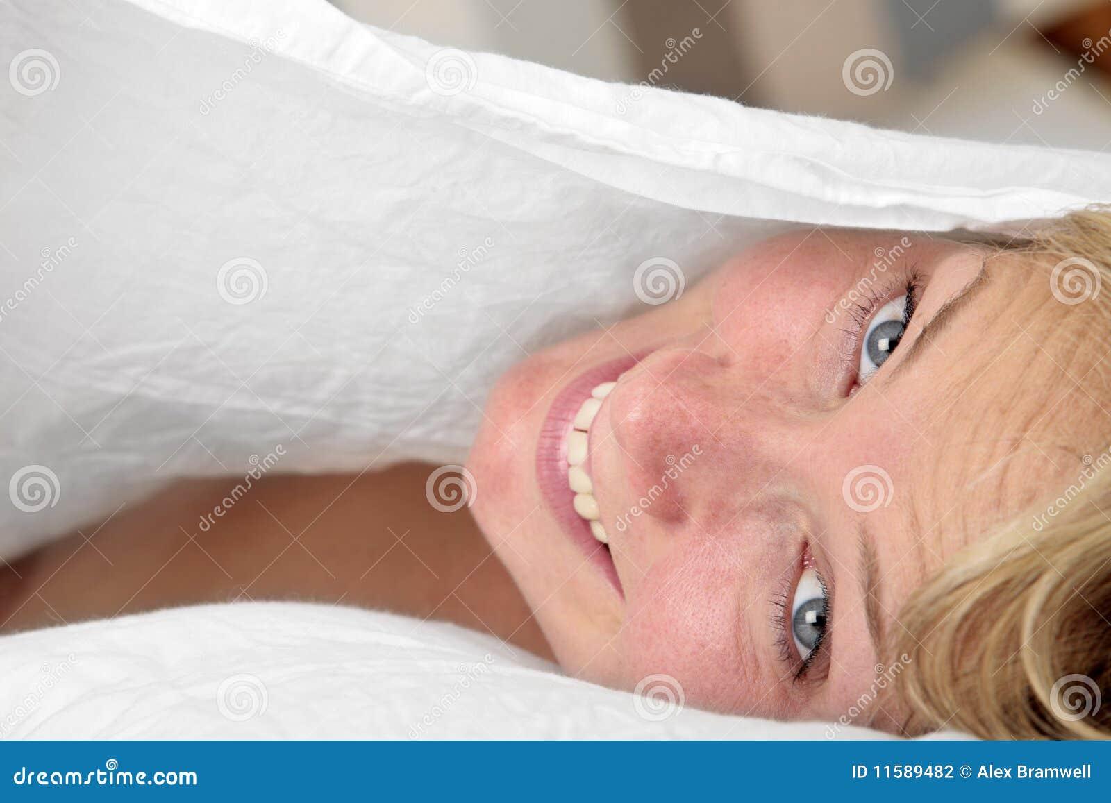 łóżkowy portret