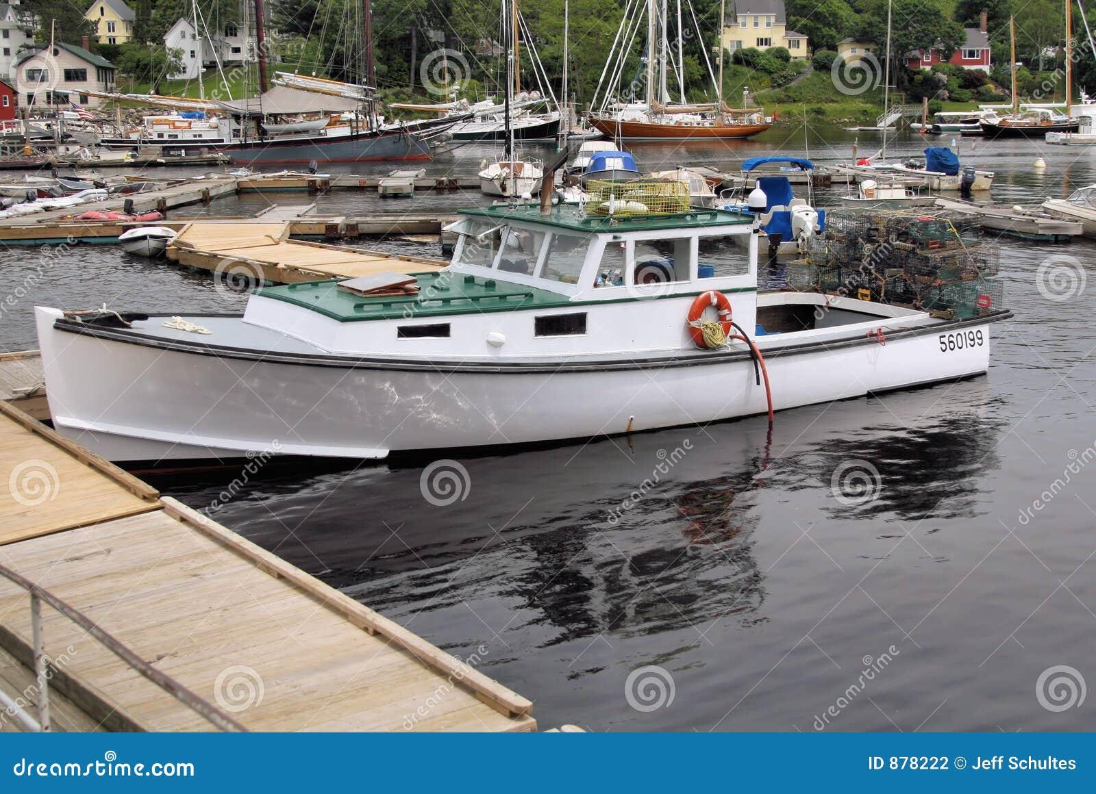 łódka homar