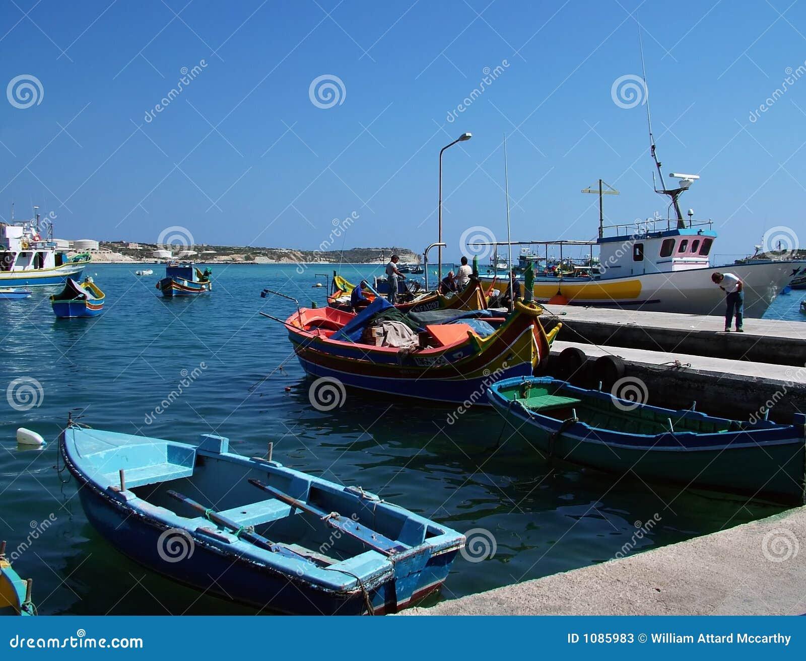 łódka Malta