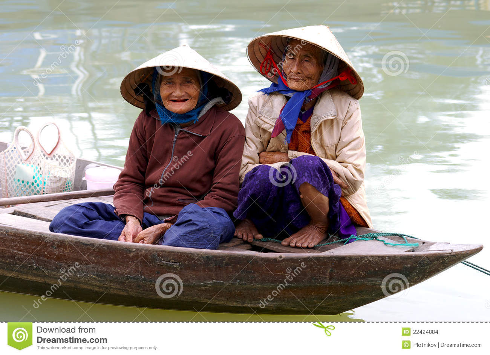 łódkowatego hoi starzy uliczni vietna womans