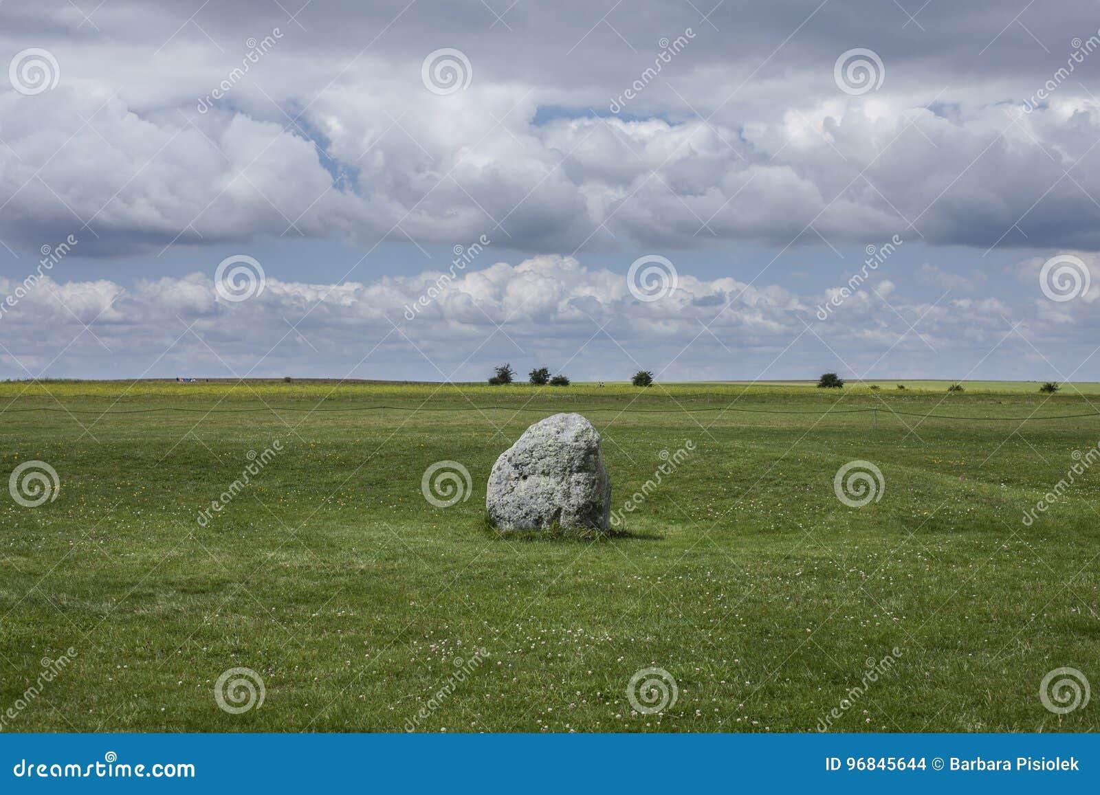 Łąki Salisbury równina skała -/