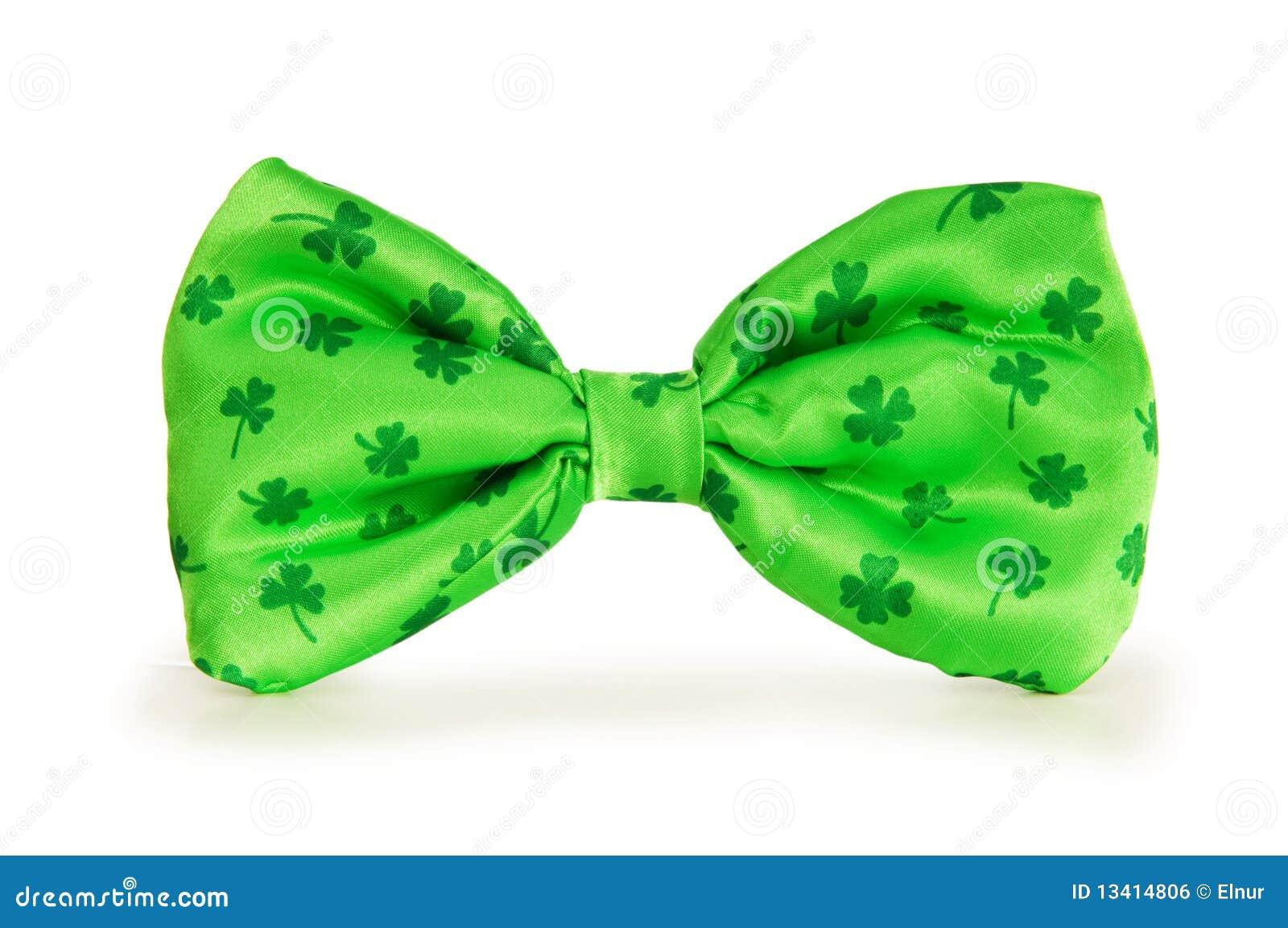 łęku zieleni krawat