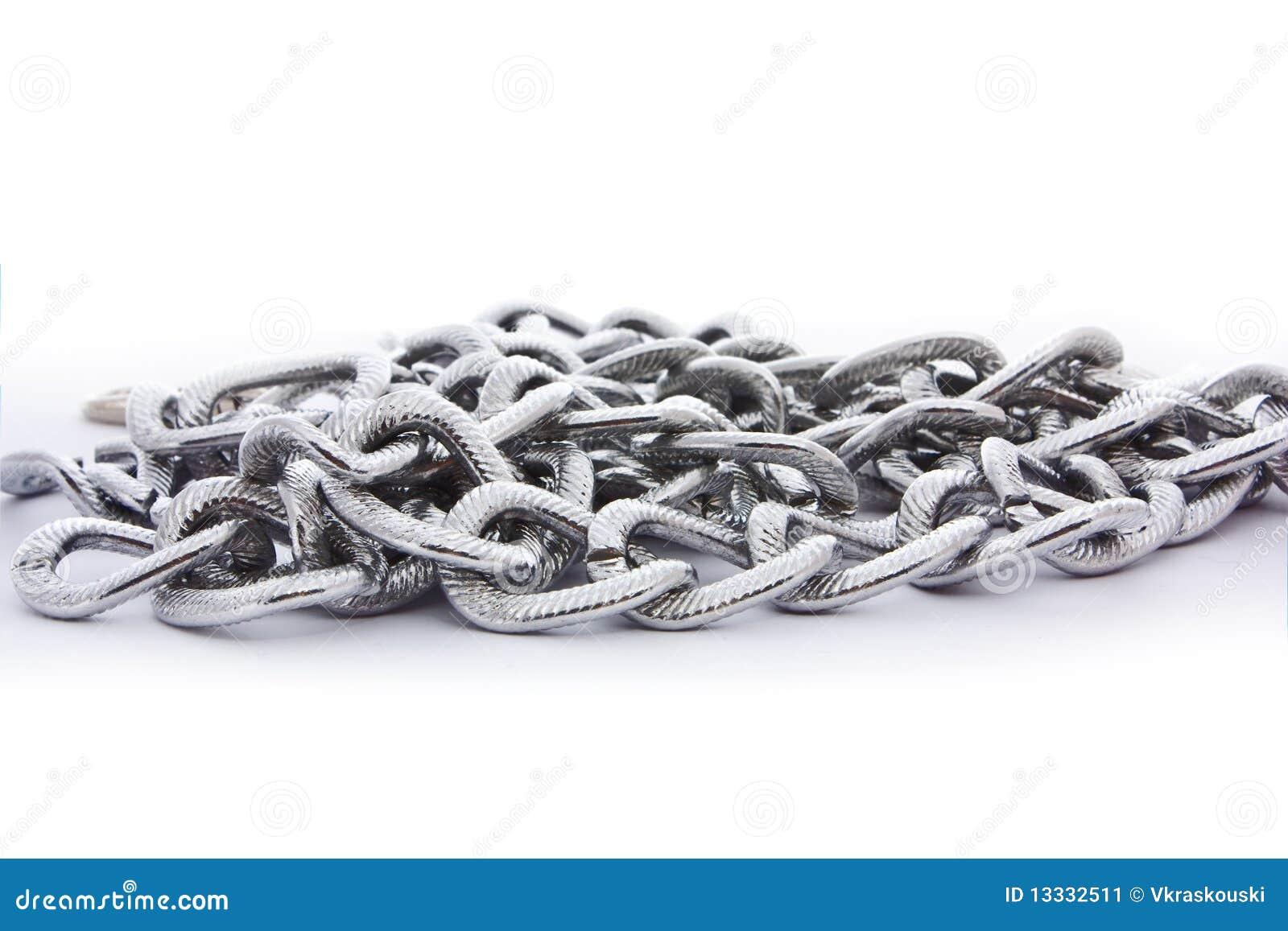 łańcuszkowy srebro