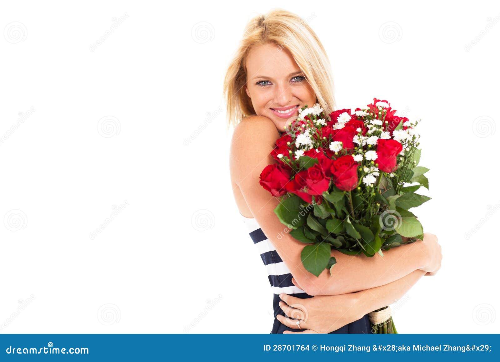 Ładne kobiet róże