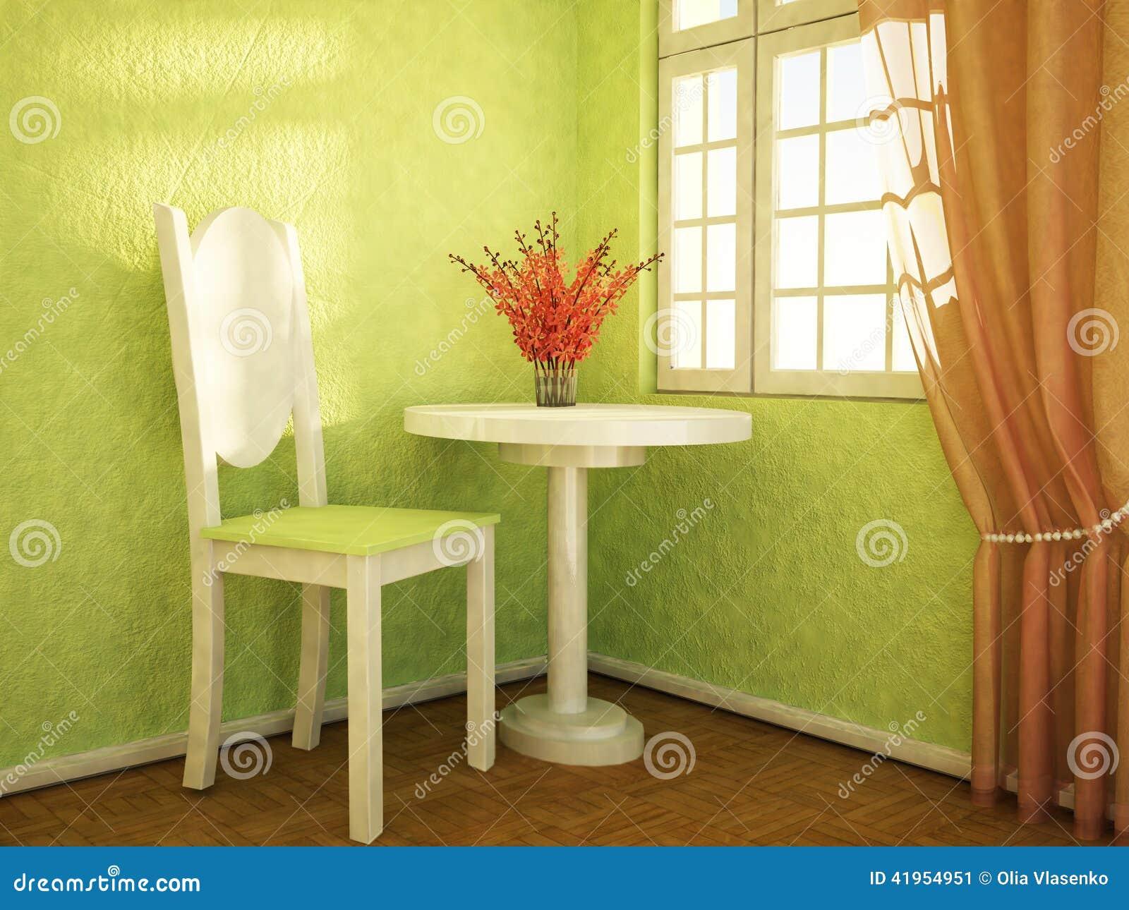 Ładni kwiaty są na stole