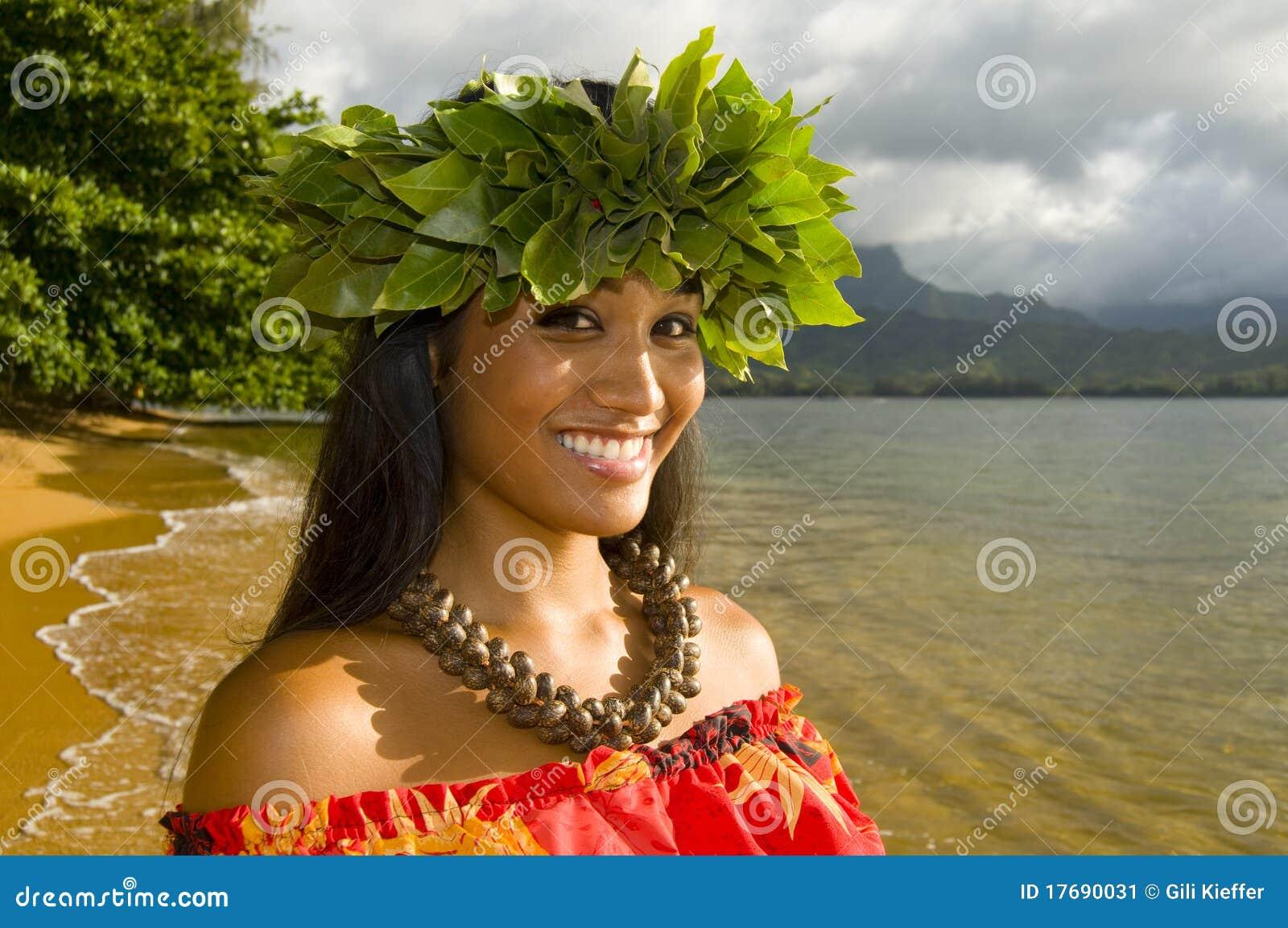 ładny dziewczyna hawajczyk