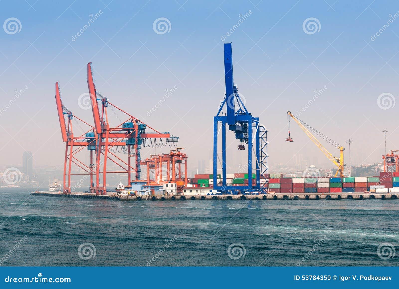 Ładunku port Istanbuł